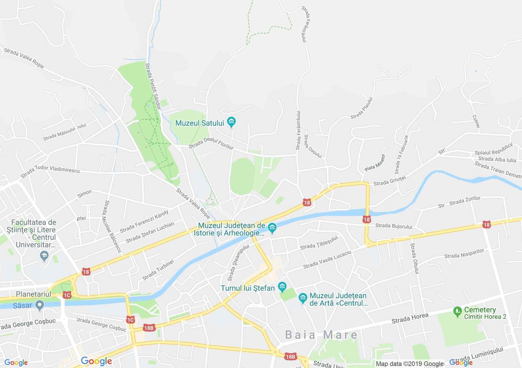 Nagybánya: Teleki ház (térkép)