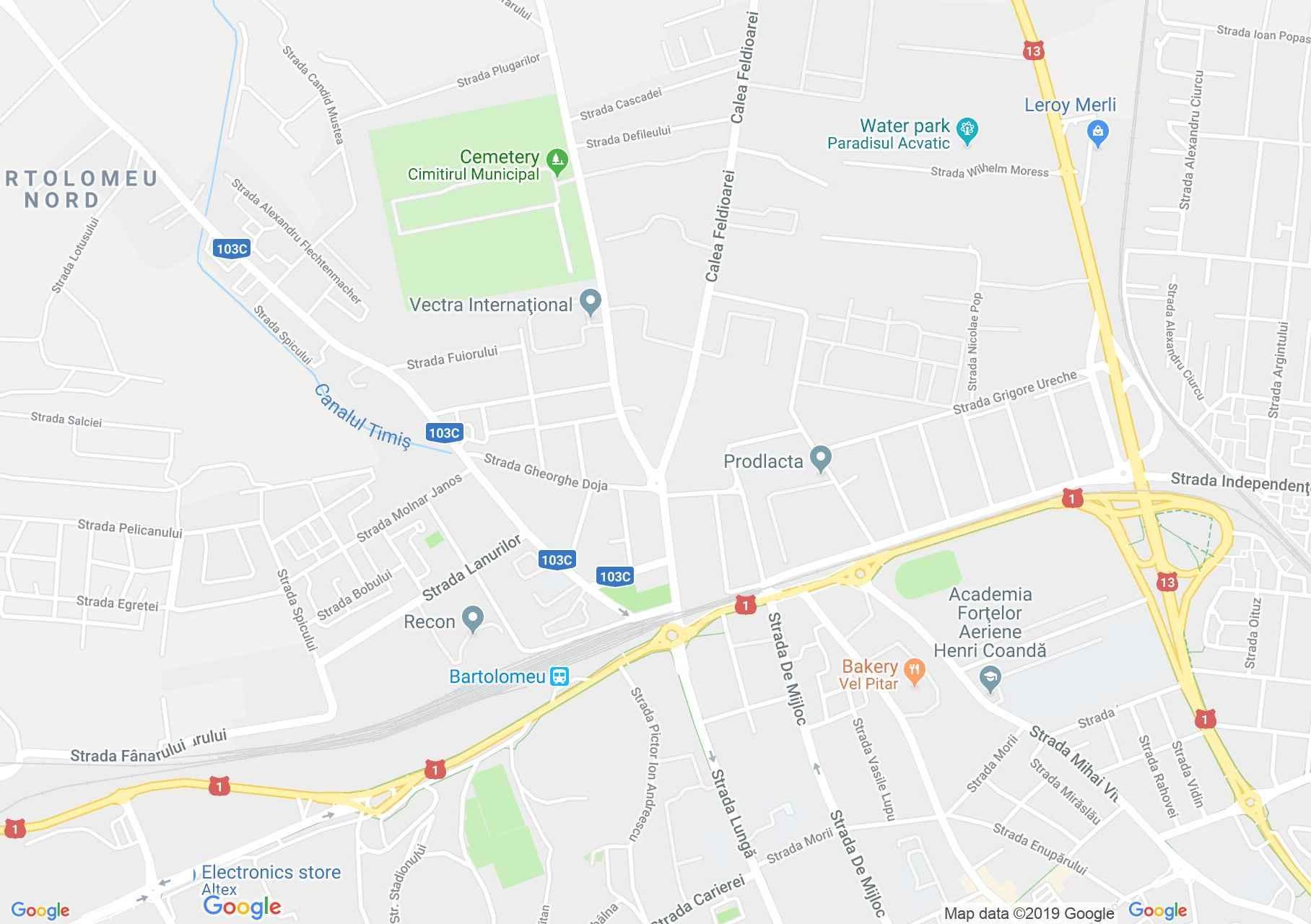 Brassó: Szent Bertalan templom (térkép)