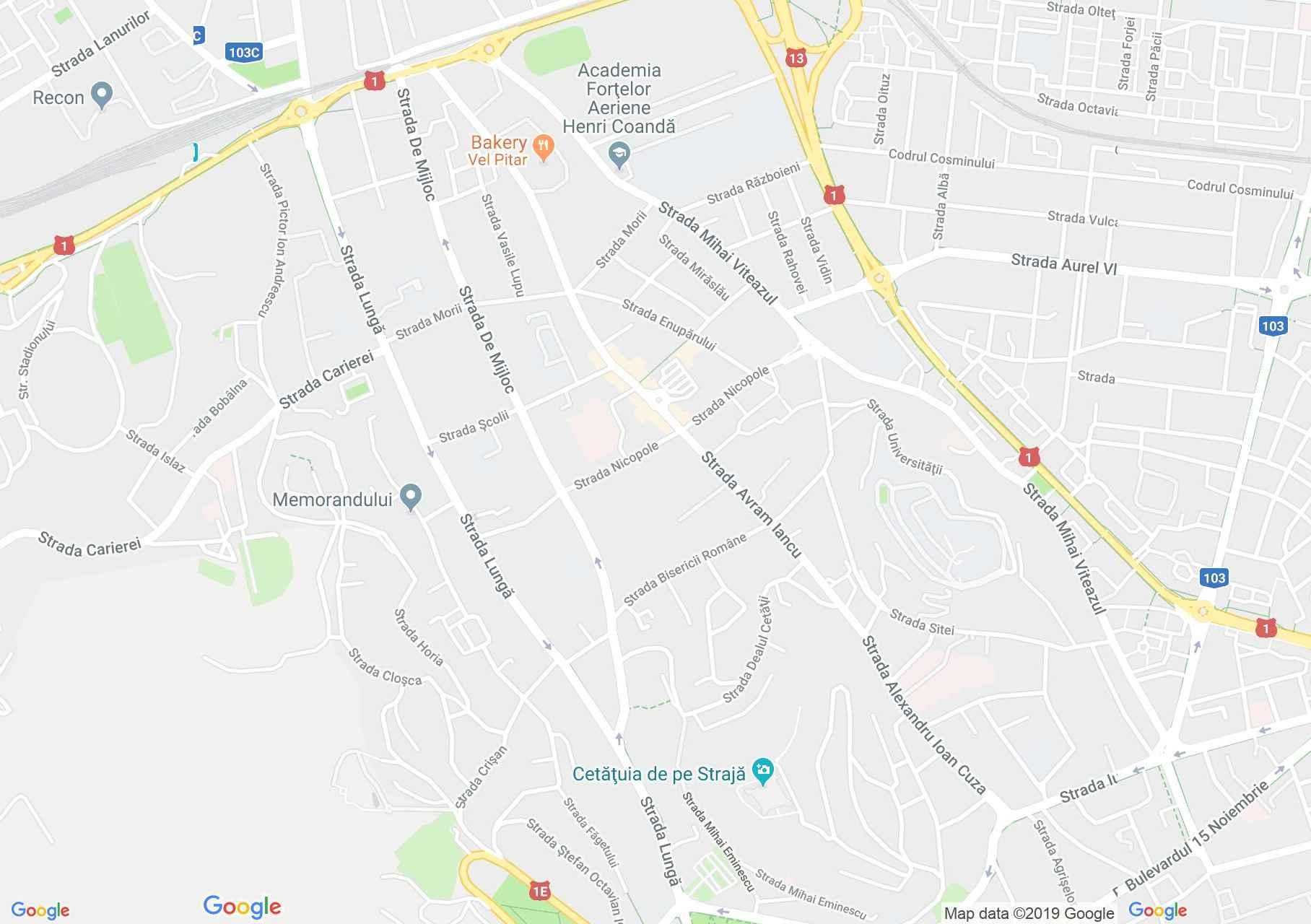 Brassó: Szent Márton templom (térkép)