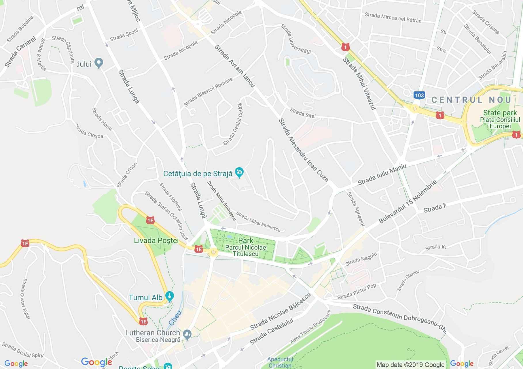 Brassó: Brassói képtár, Képzőművészeti múzeum (térkép)