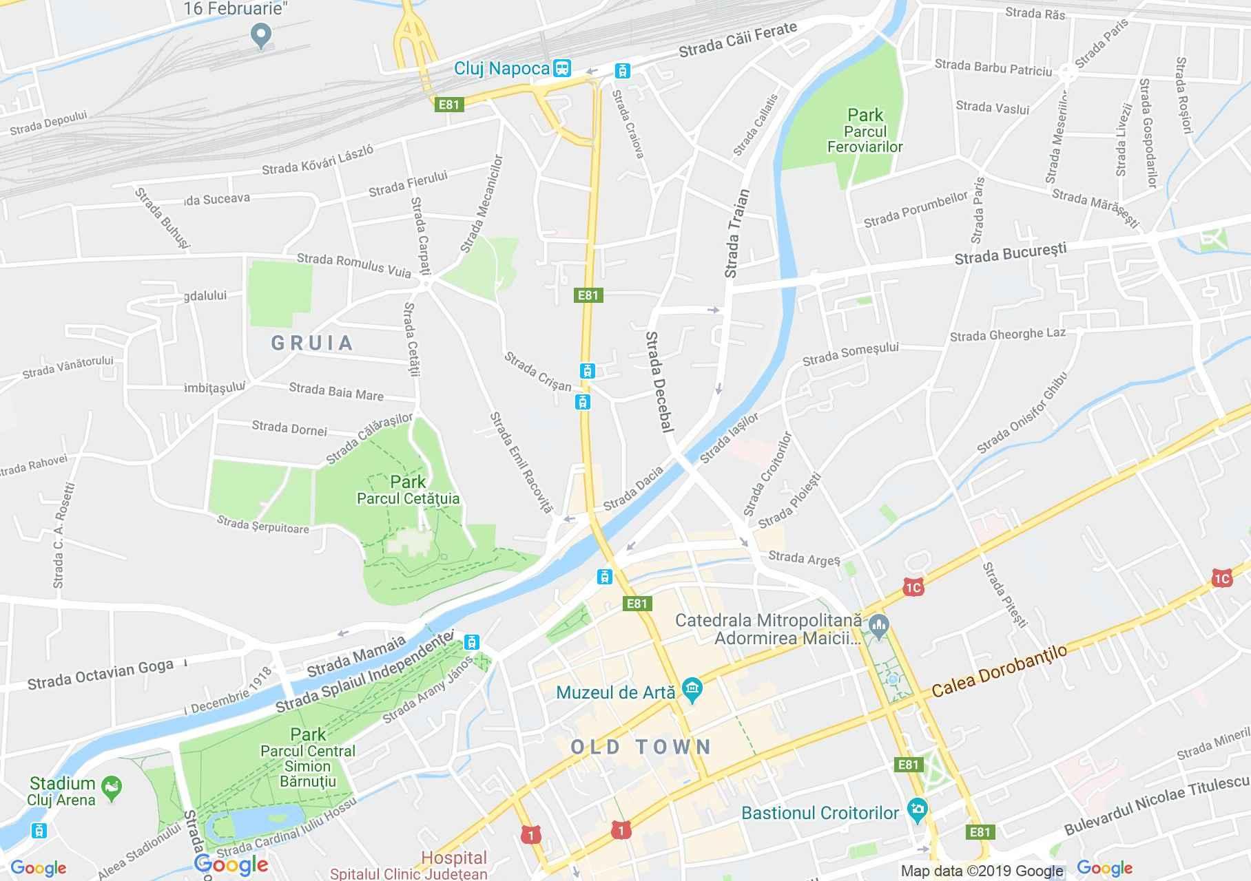Kolozsvár: Pénzverőház (térkép)