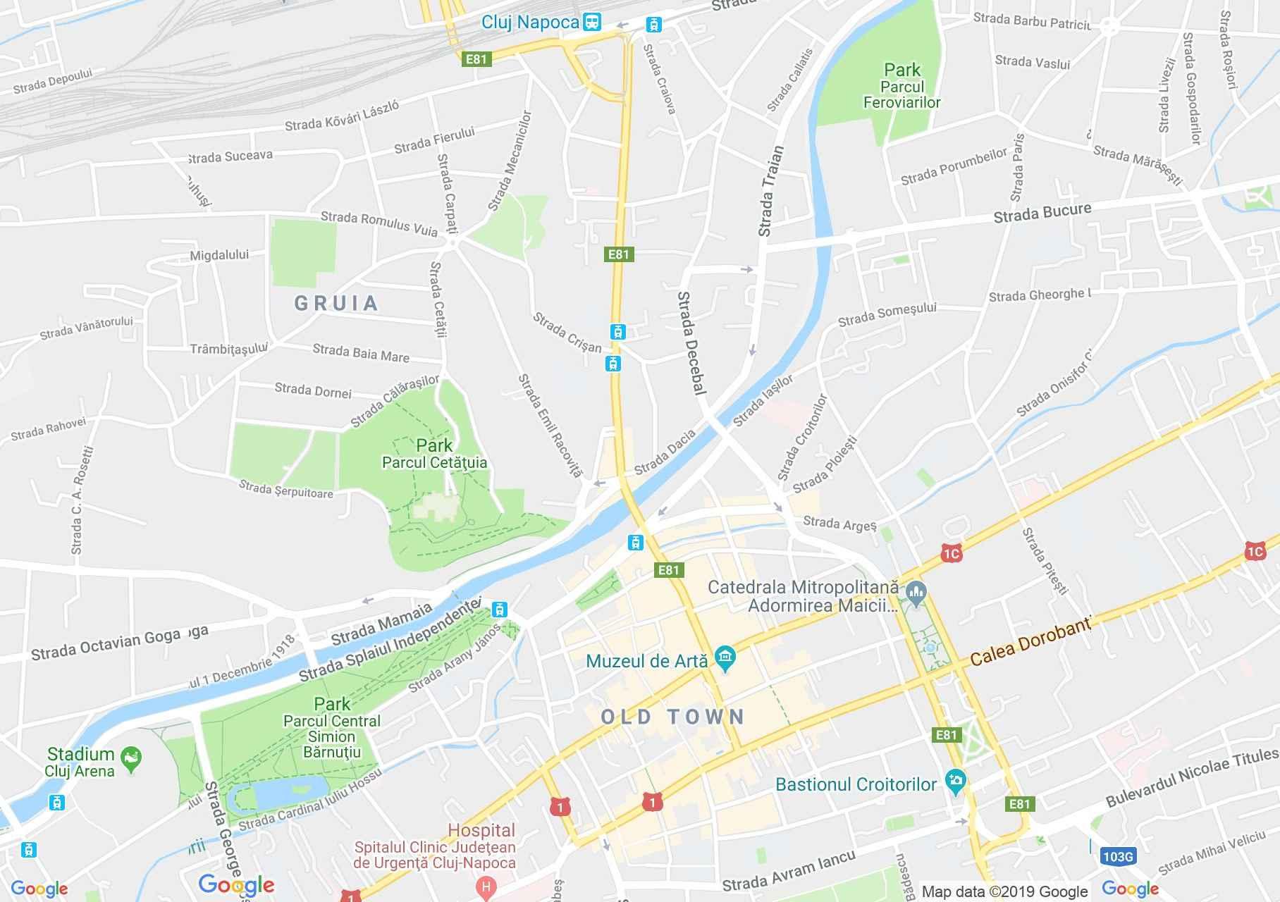 Hartă Cluj-Napoca: Casa Eppel