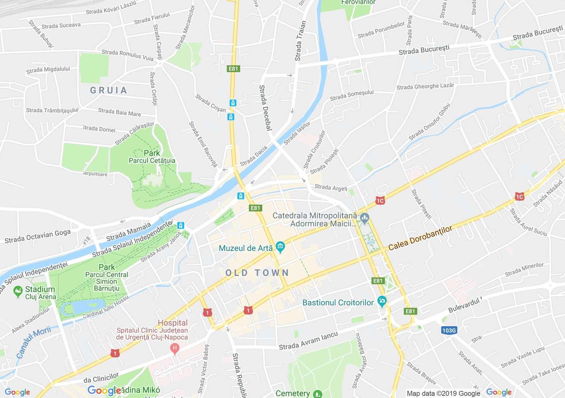 Kolozsvár: Filstich-ház (térkép)