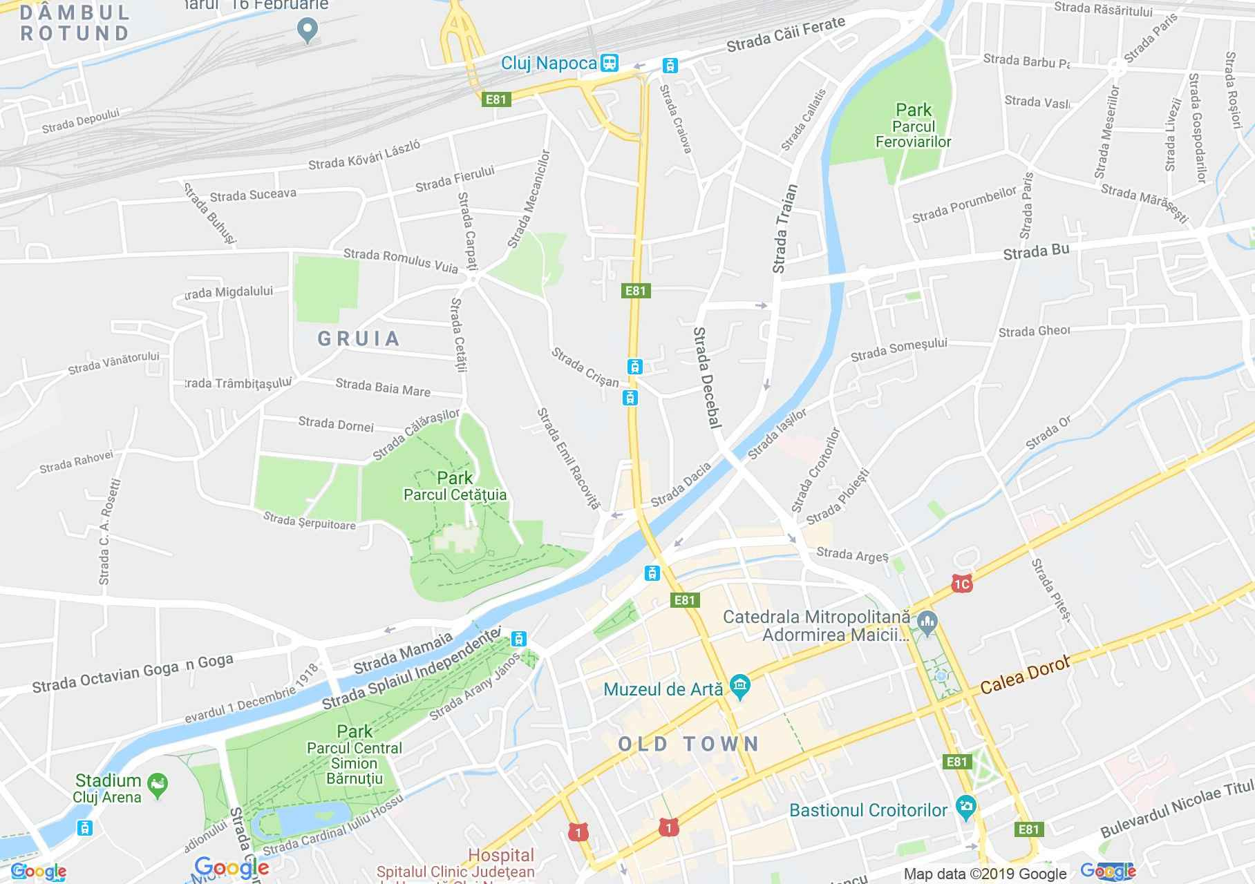 Map of Cluj-Napoca: Mikes house