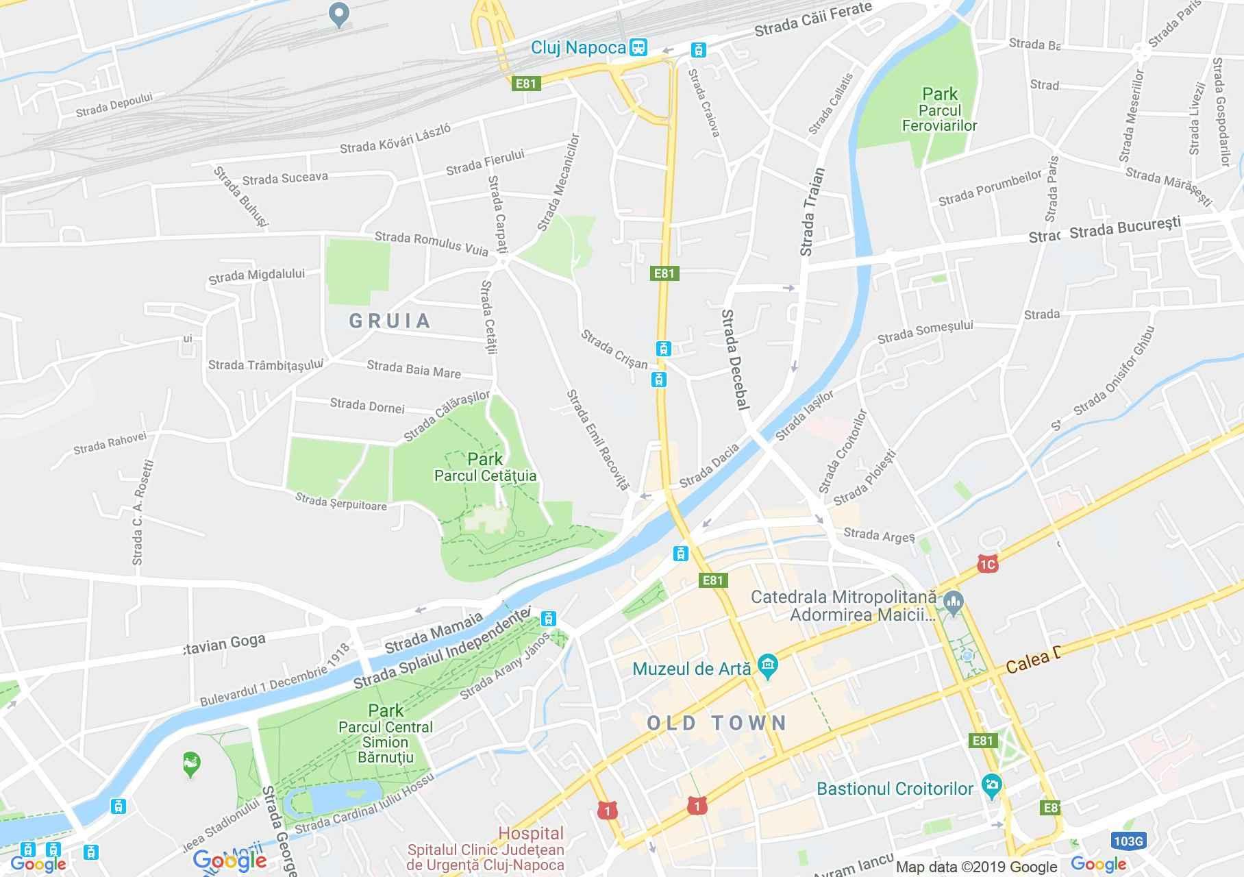 Kolozsvár: Erdély Nemzeti Történelmi Múzeuma (térkép)