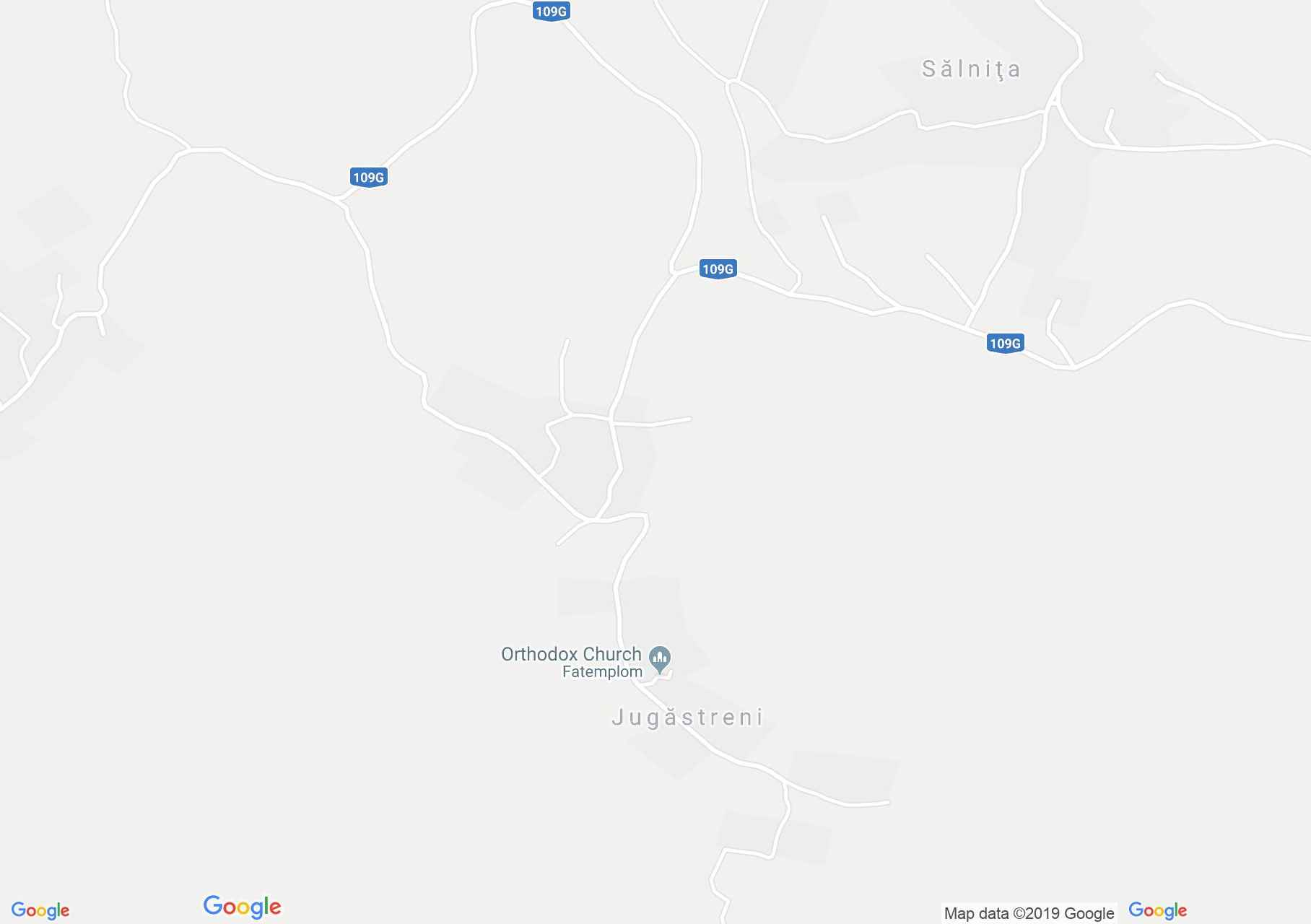 Jávoros: Fatemplom (térkép)