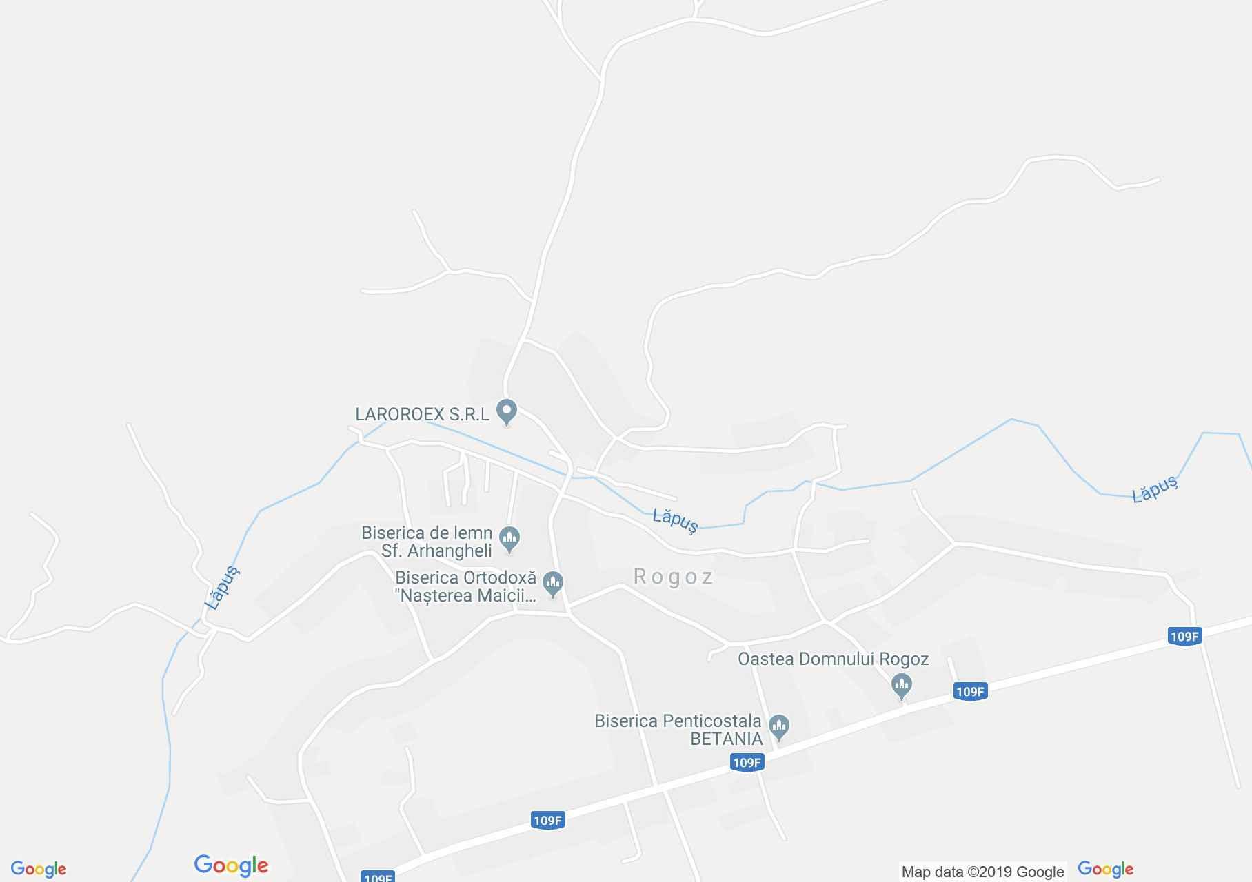 Hartă Rogoz