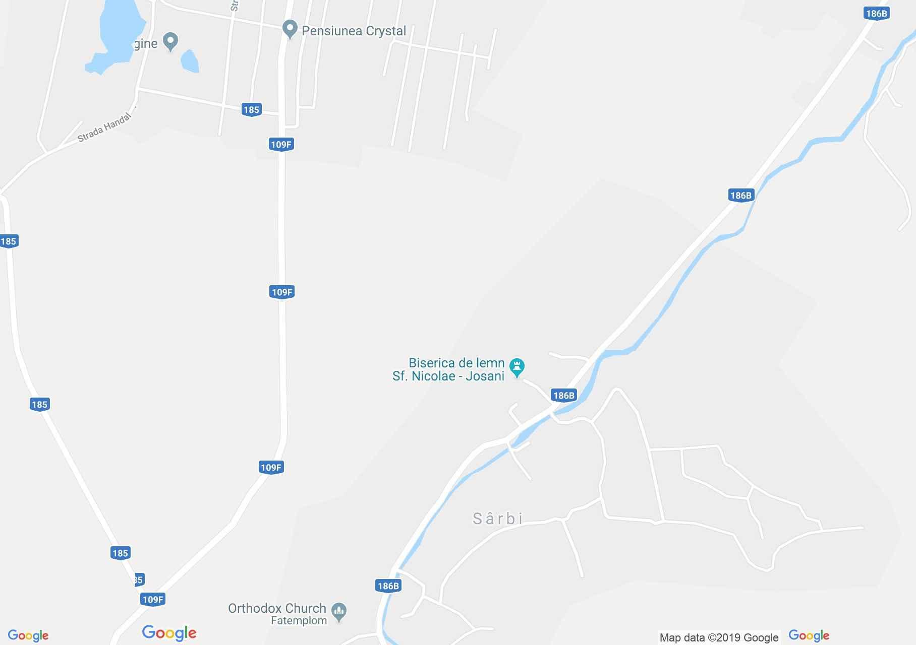 Szerfalva (térkép)