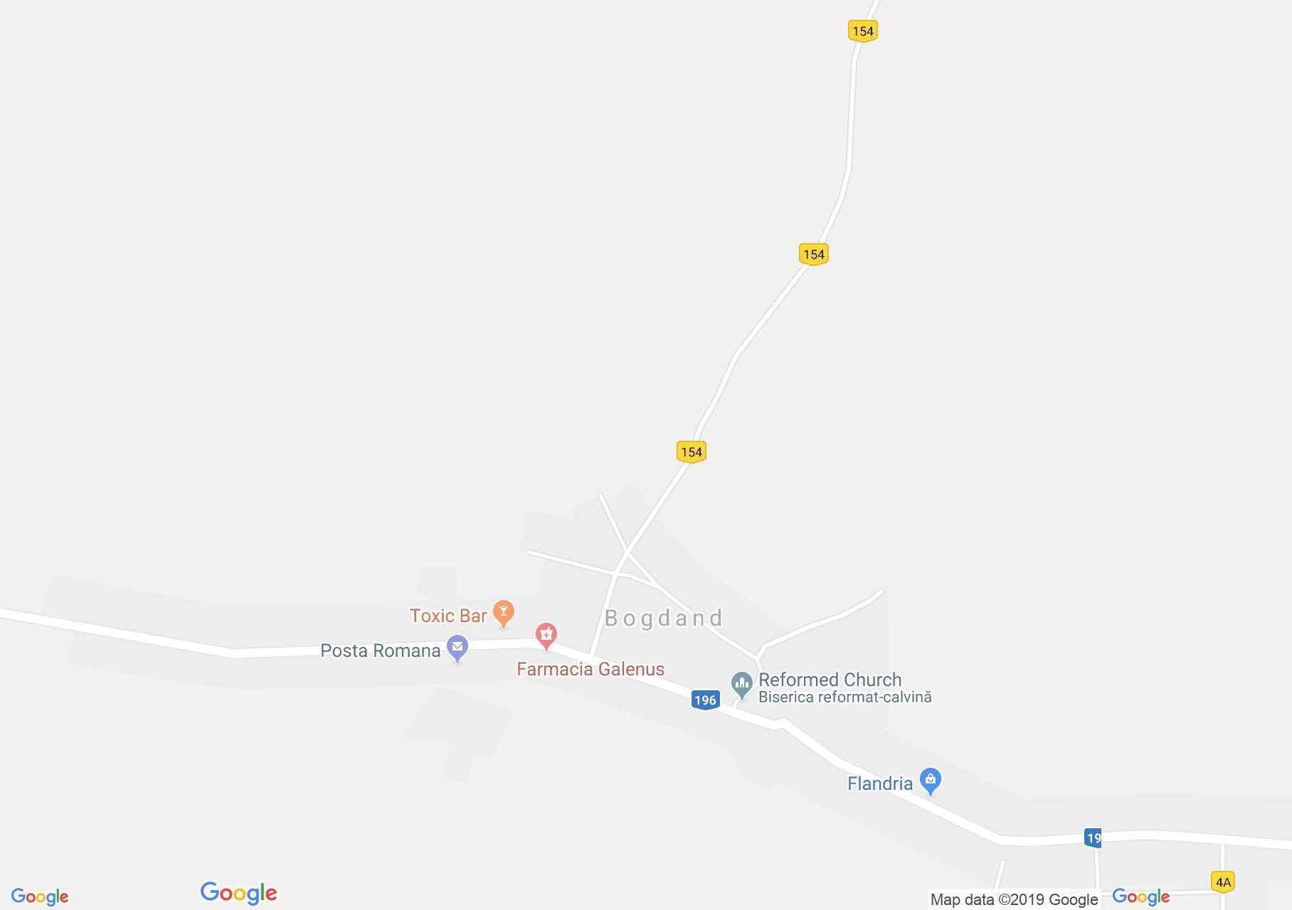 Map of Bogdand: Ethnographic Museum
