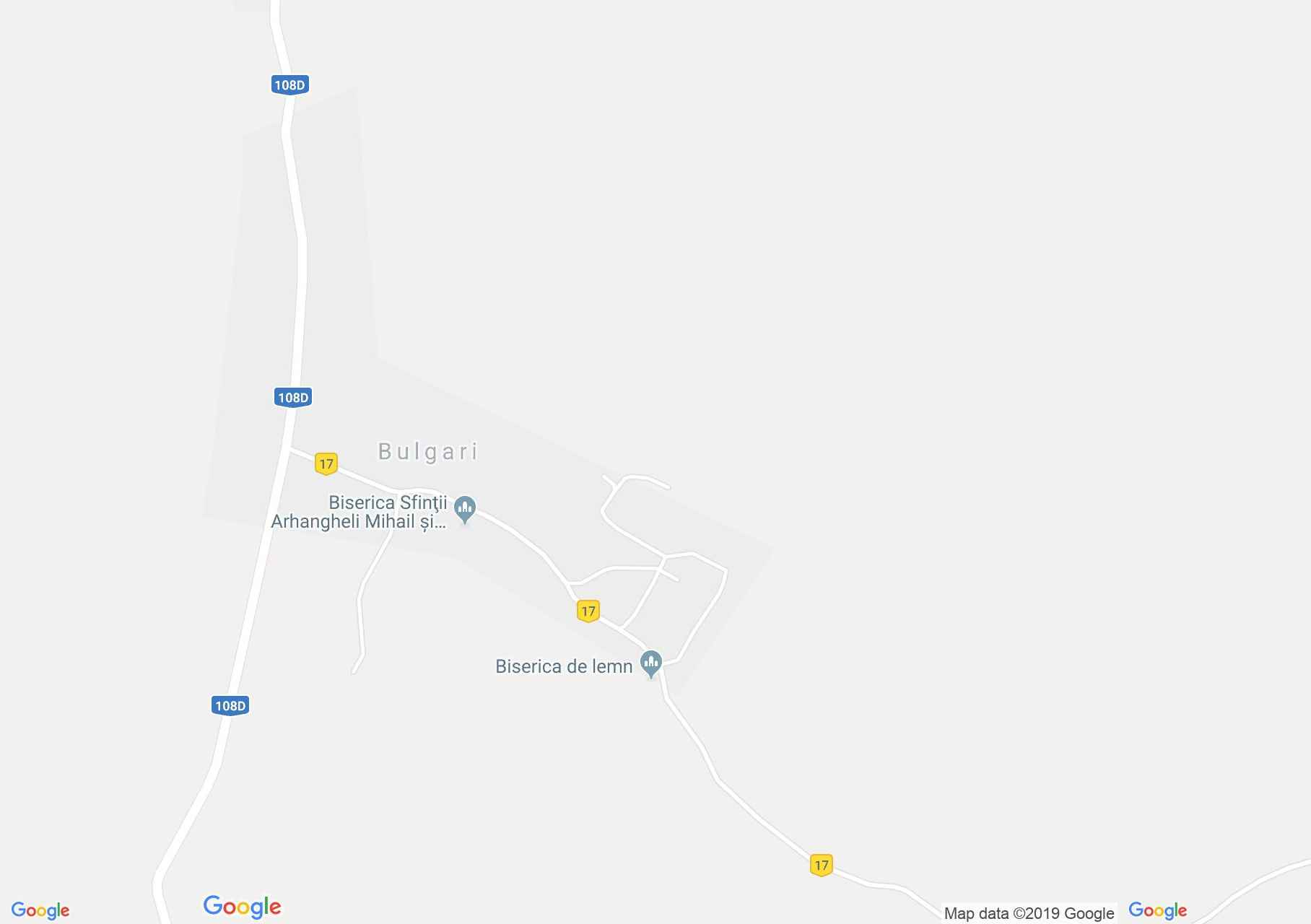 Map of Bulgari: Wooden church