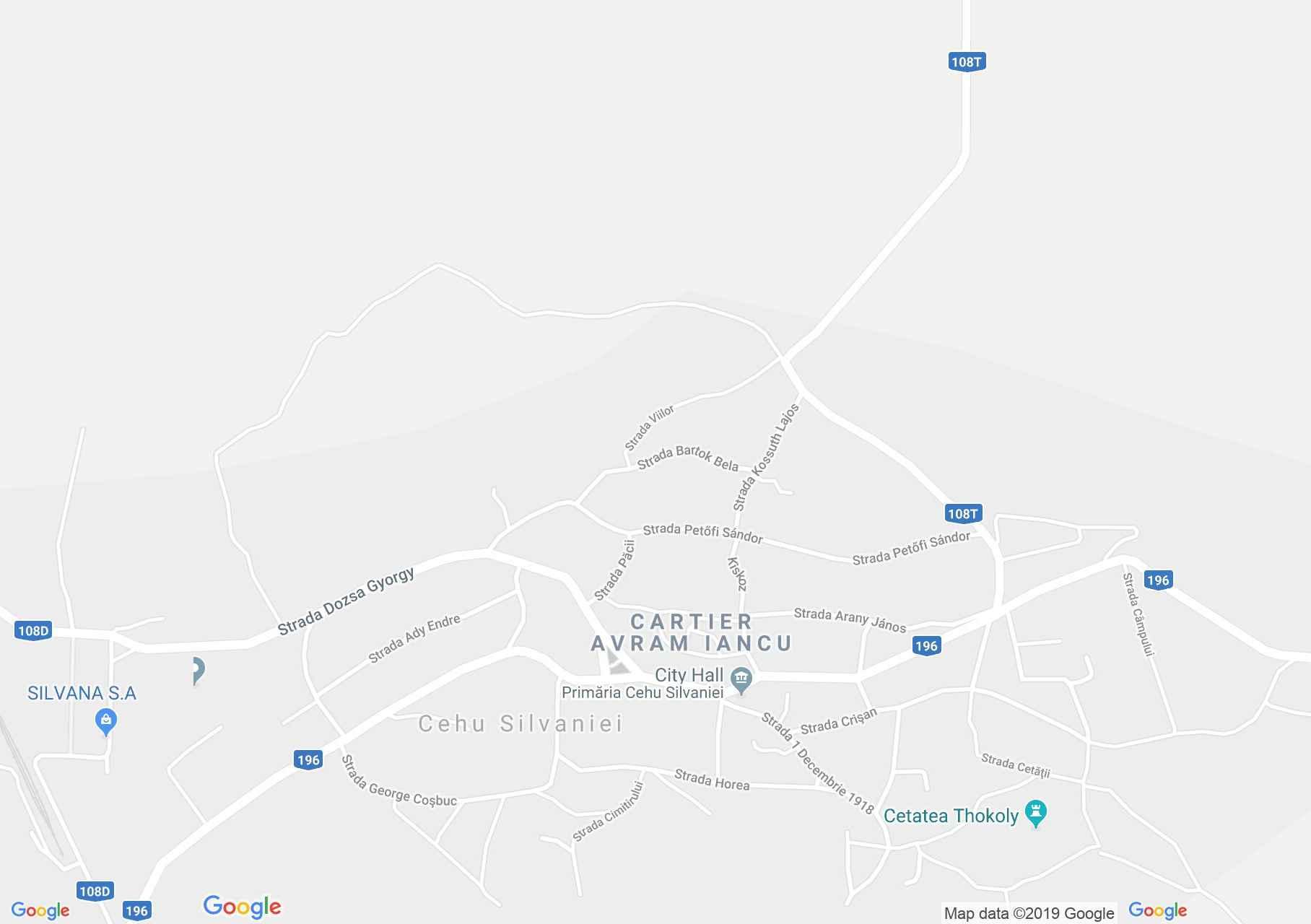 Hartă Cehu Silvaniei: Banca de Păstrare