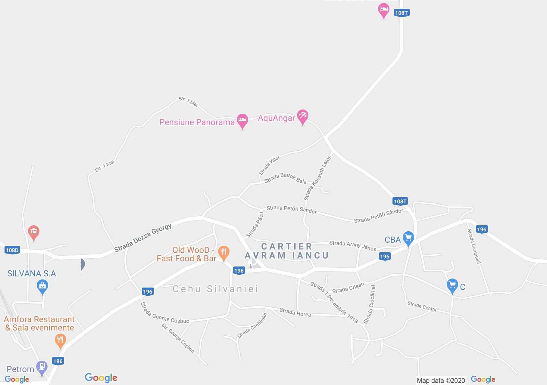 Szilágycseh: Börtön (térkép)