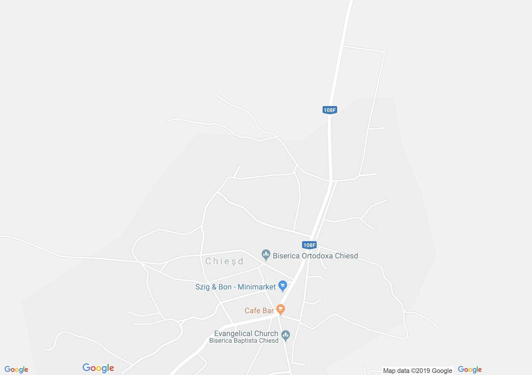 Szilágykövesd: Cselédek háza (térkép)
