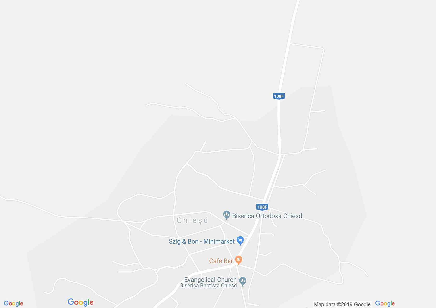 Szilágykövesd: Kemény kúria (térkép)