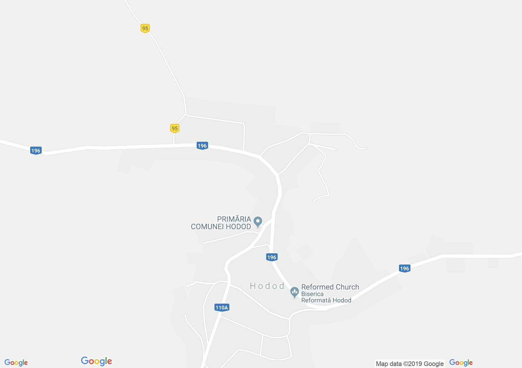 Hartă Hodod: Castelul Wesselényi-Kendeffy, ulterior Dégenfeld