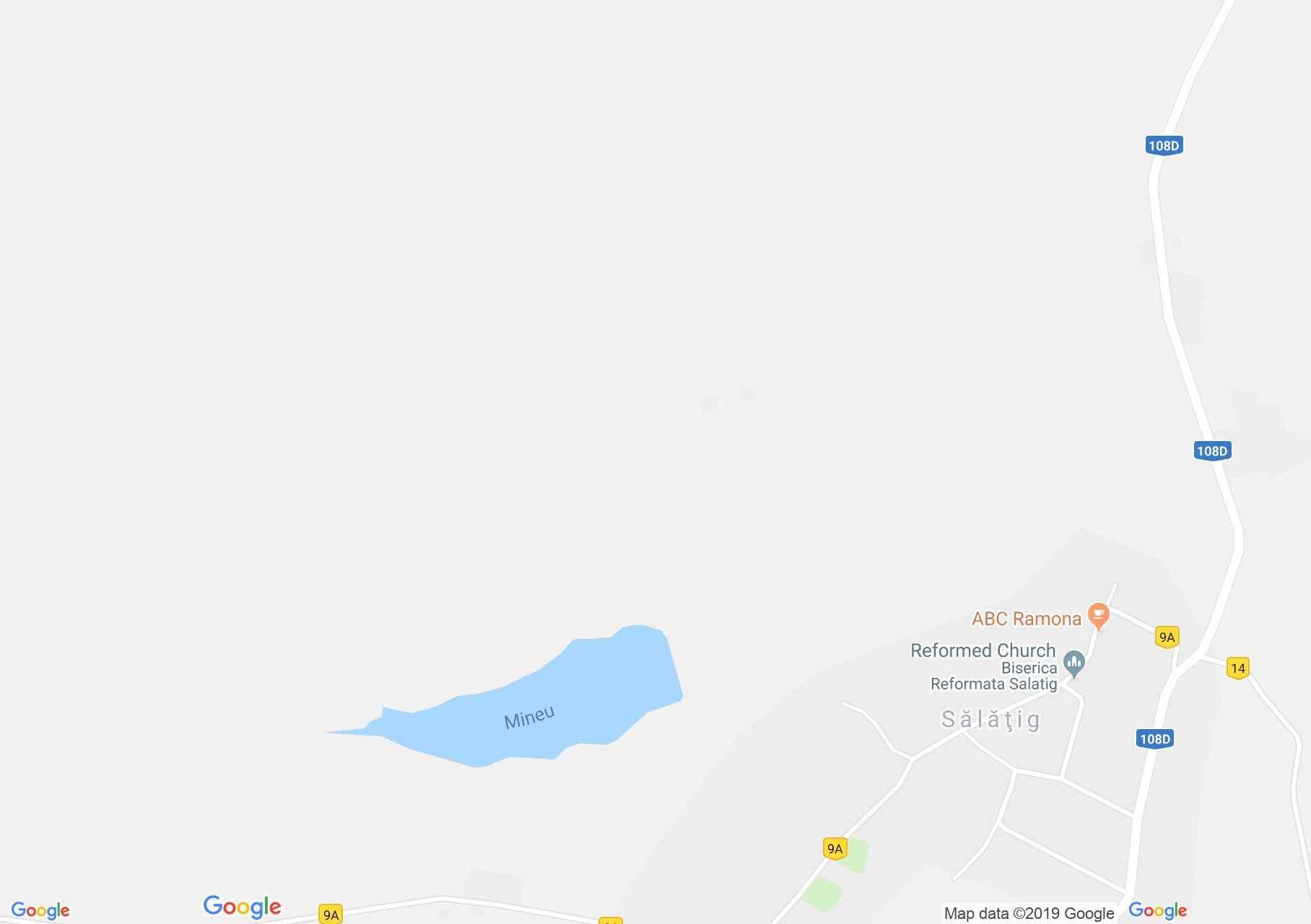 Szilágyszeg: A tó (térkép)
