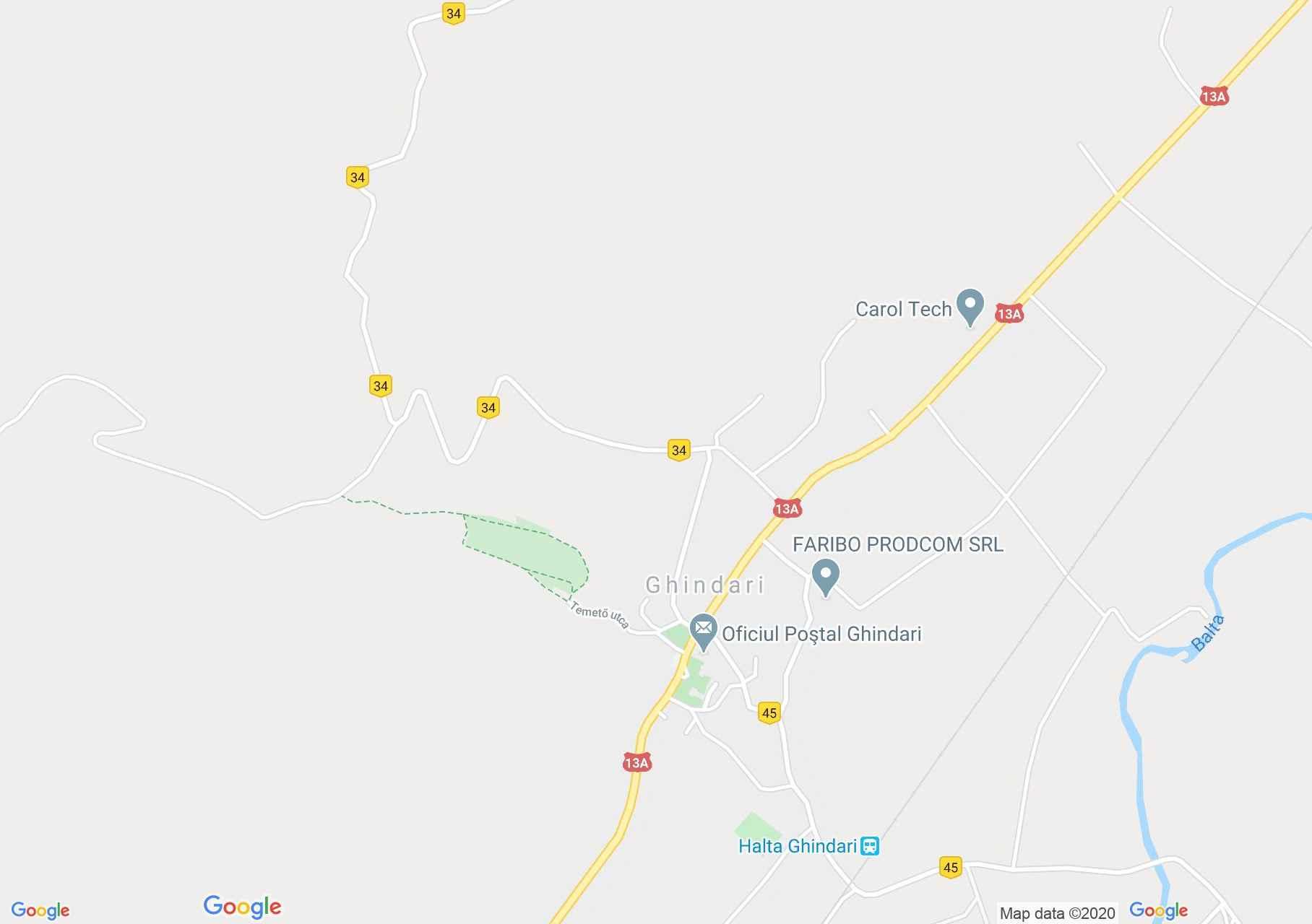 Makfalva: Néprajzi múzeum (térkép)