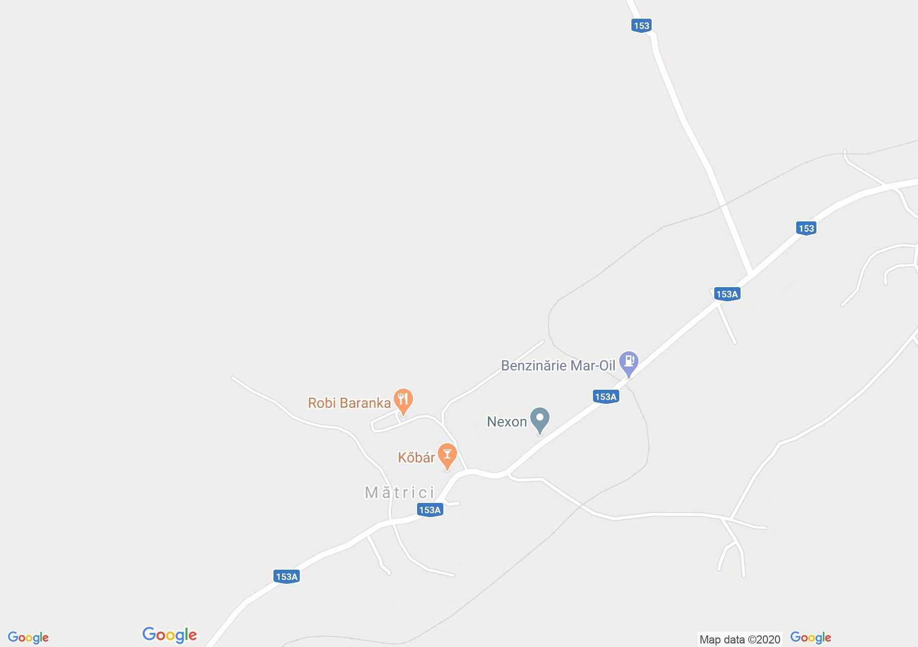 Map of Mătrici