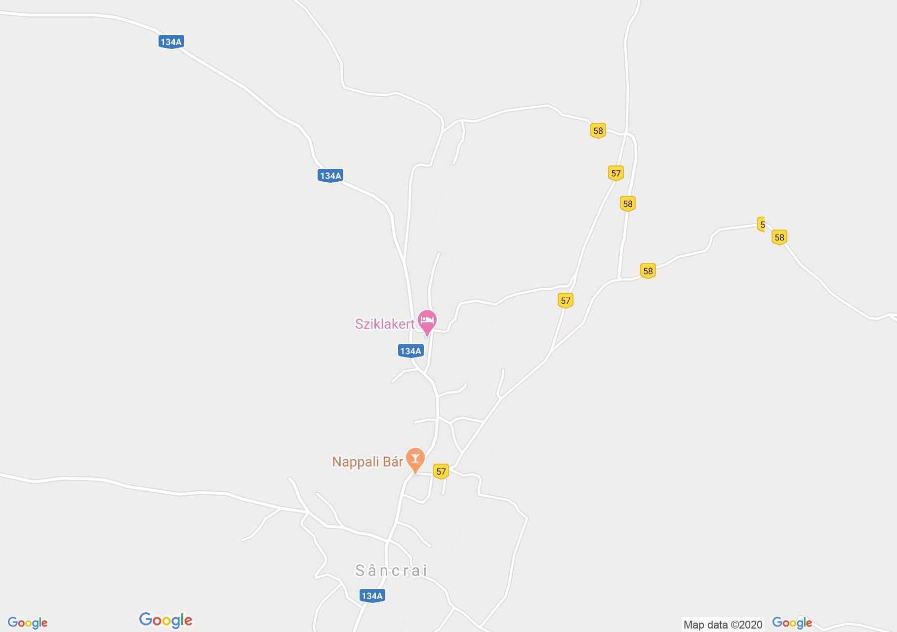Székelyszentkirály: Katolikus templom (térkép)
