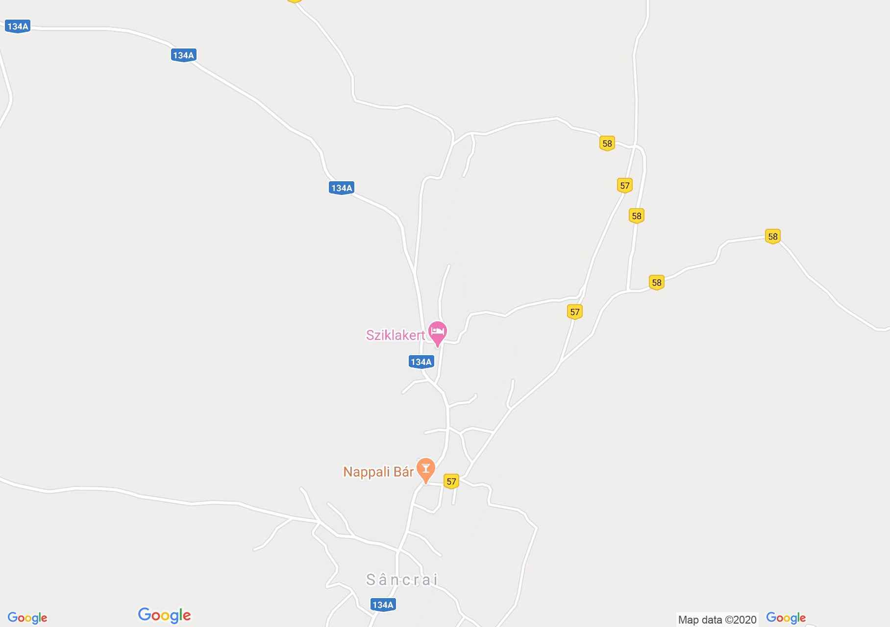 Székelyszentkirály: Katolikus iskola (térkép)