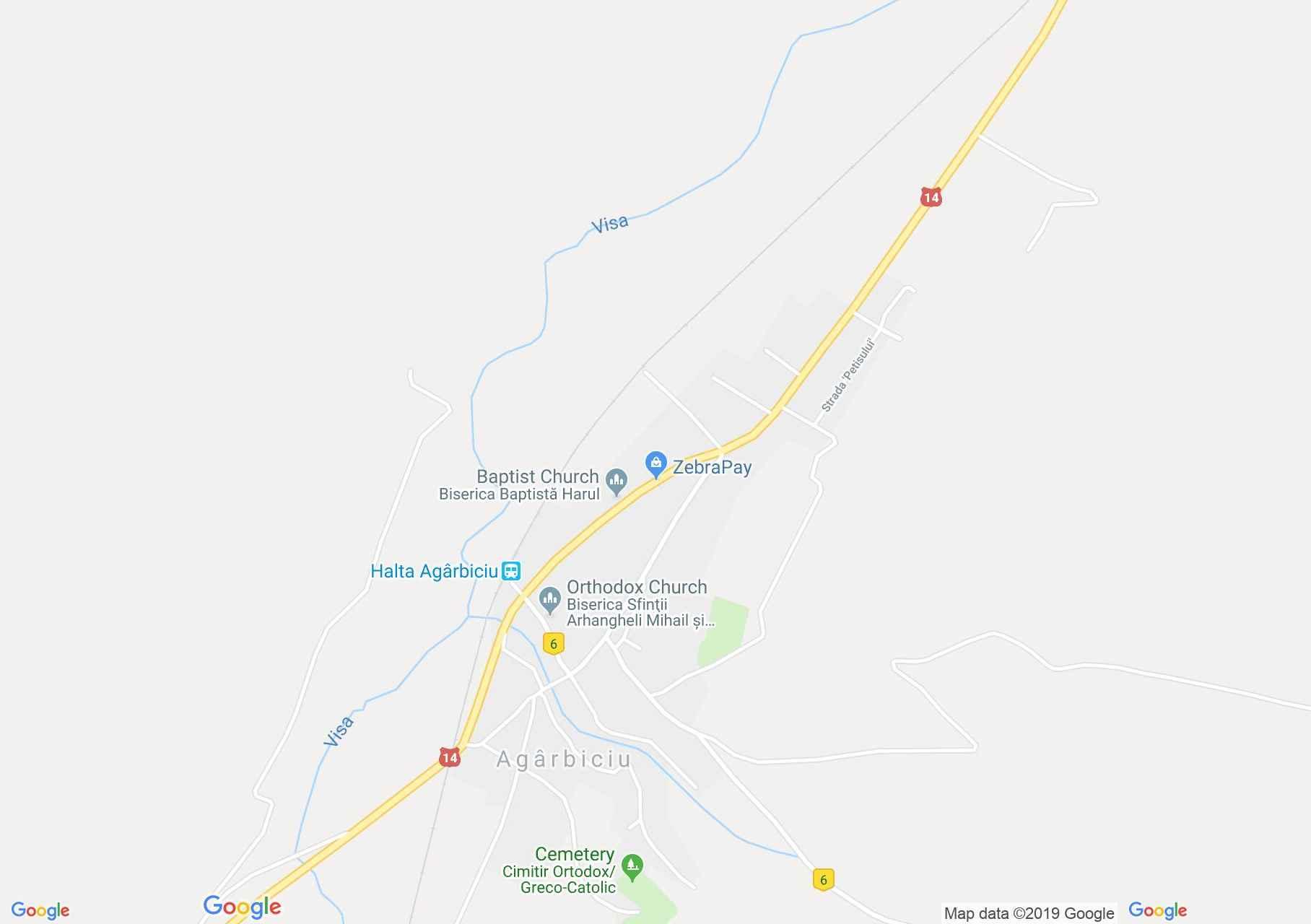 Egerbegy: Evangélikus erődtemplom (térkép)