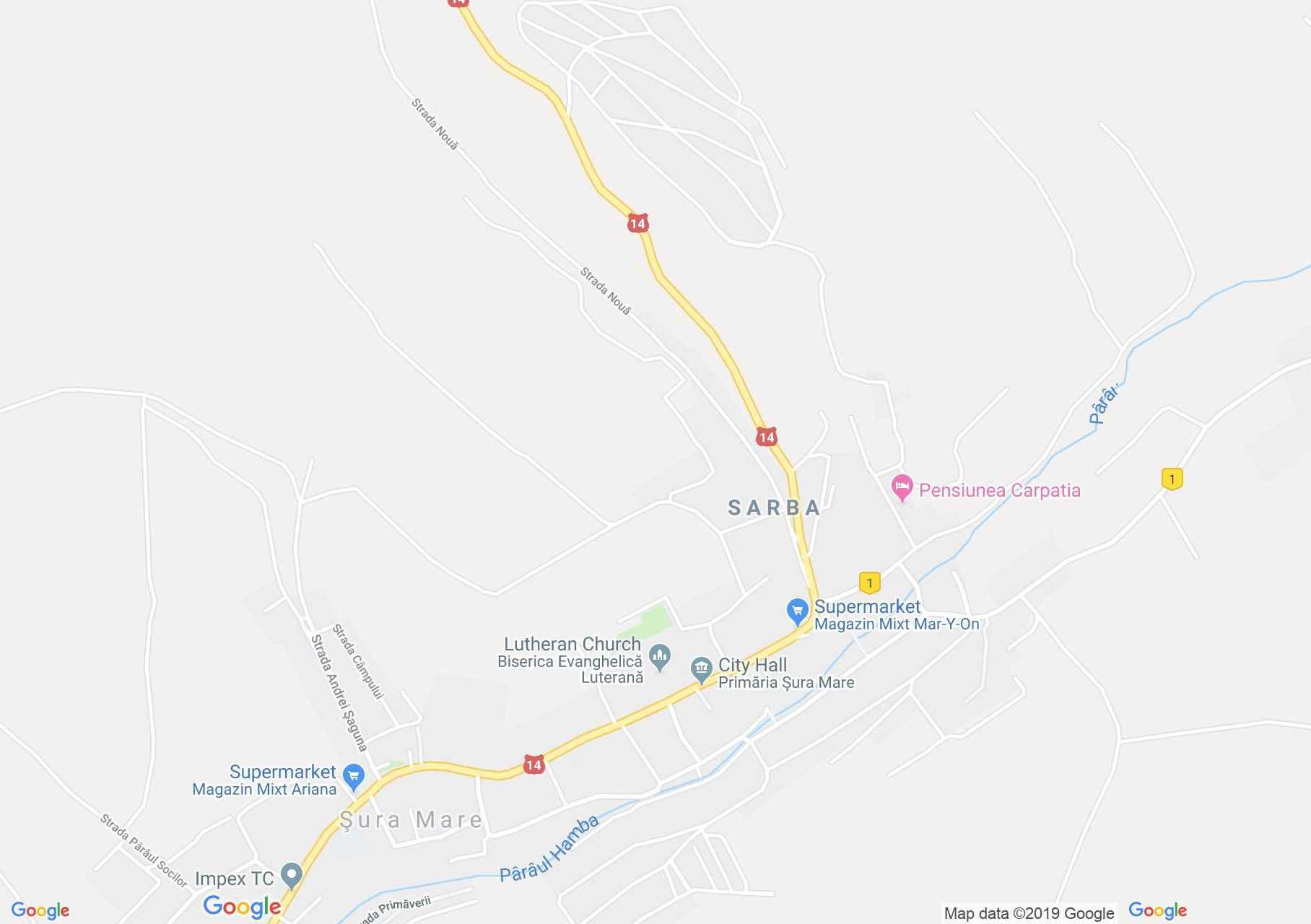 Nagycsűr: Evangélikus erődtemplom (térkép)