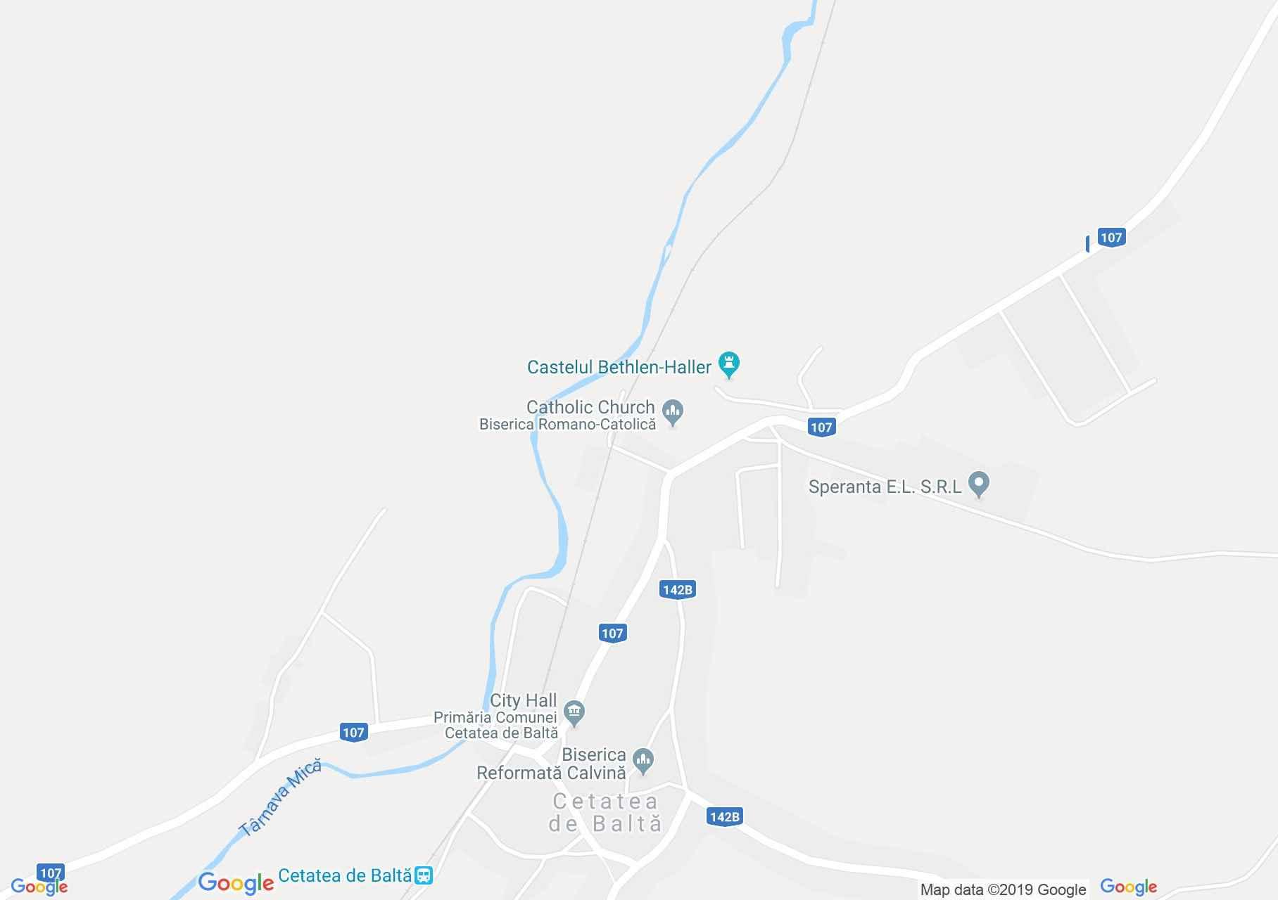 Küküllővár: Küküllővár (térkép)