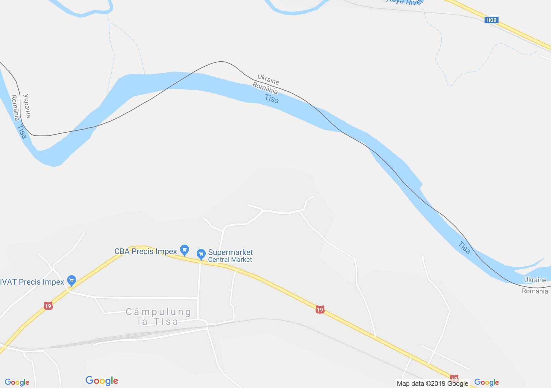Hartă Câmpulung la Tisa: Mesterul Zelevici Mihai