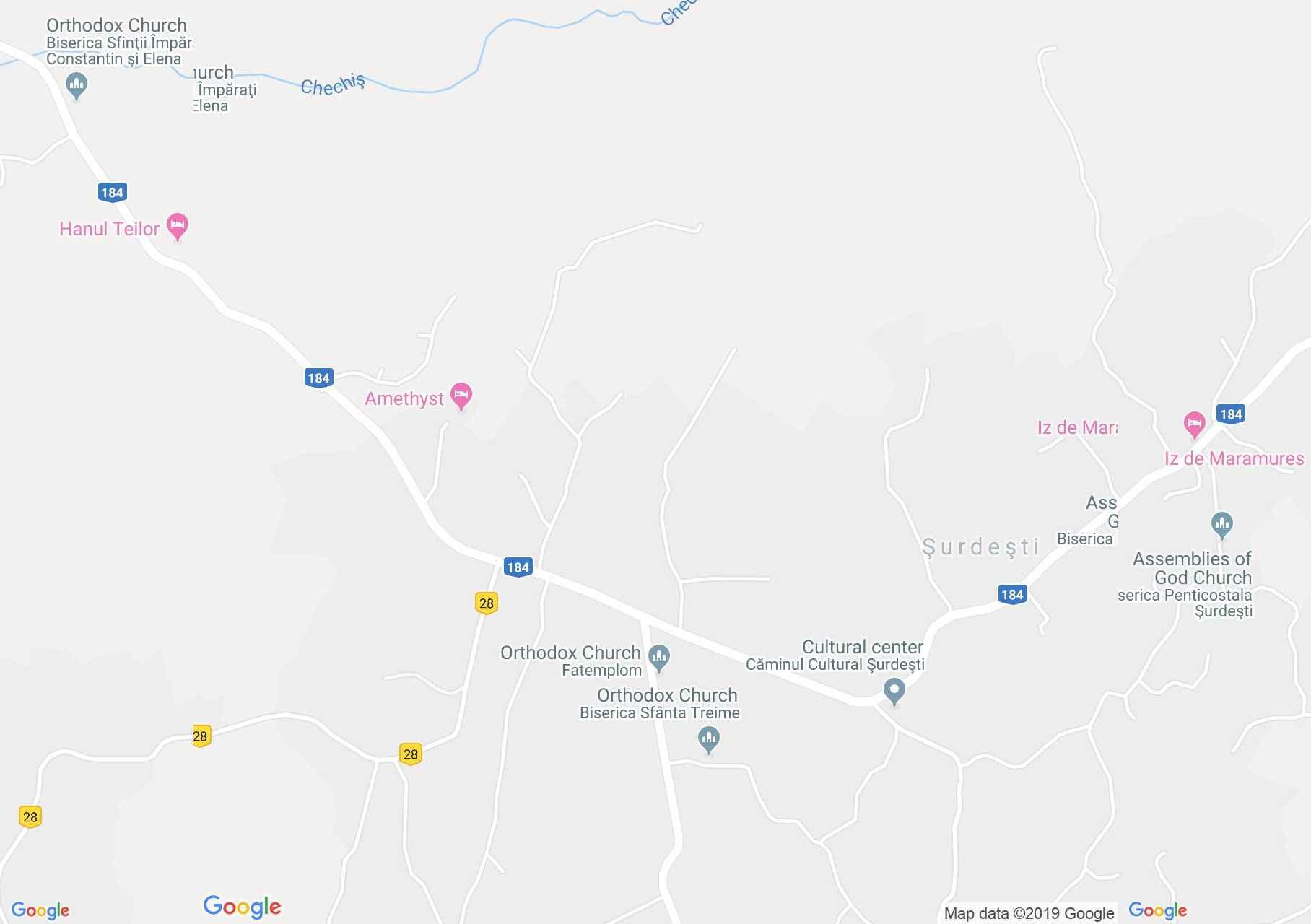 Dióshalom: Régi templom (térkép)
