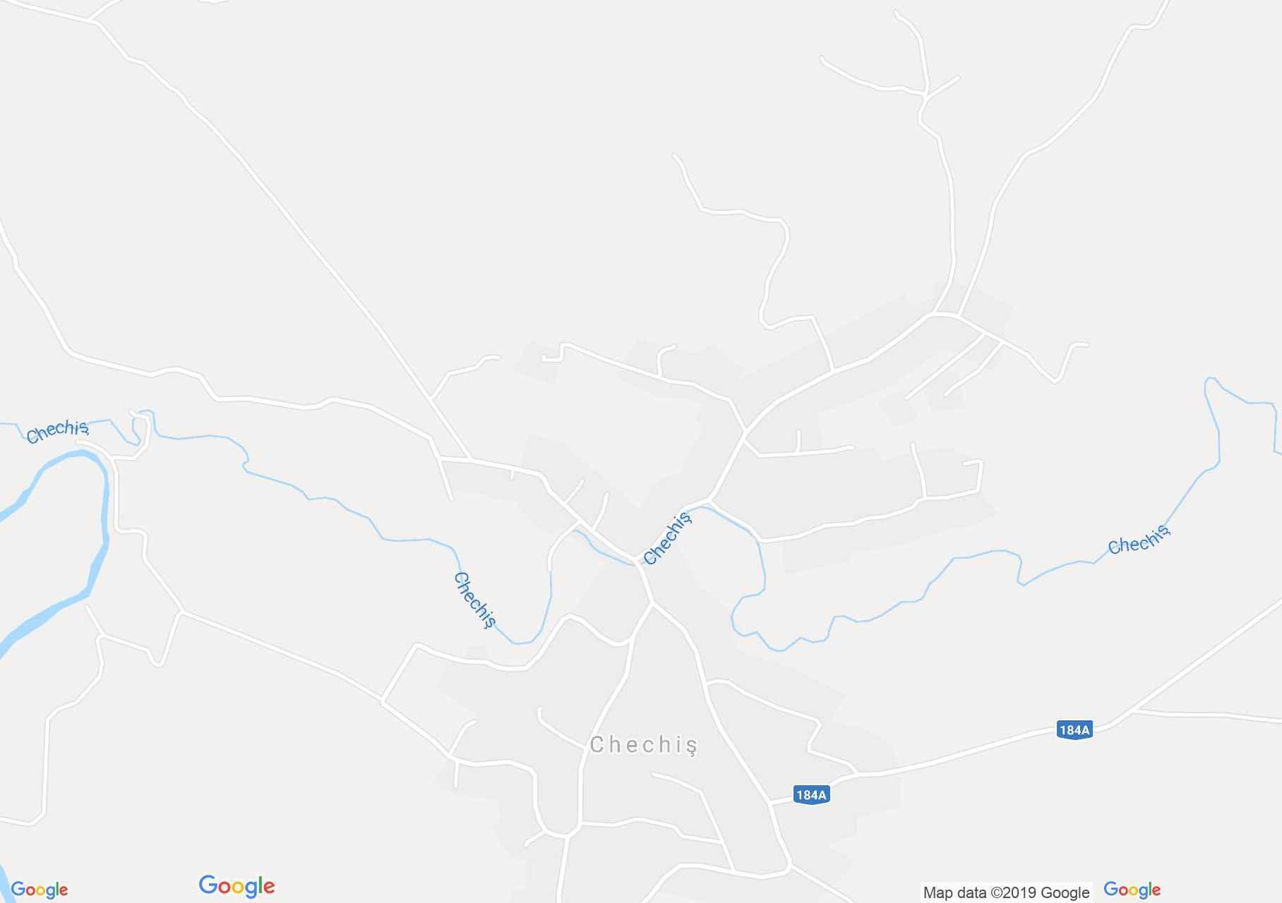 Hartă Chechiş: Biserica ortodoxă