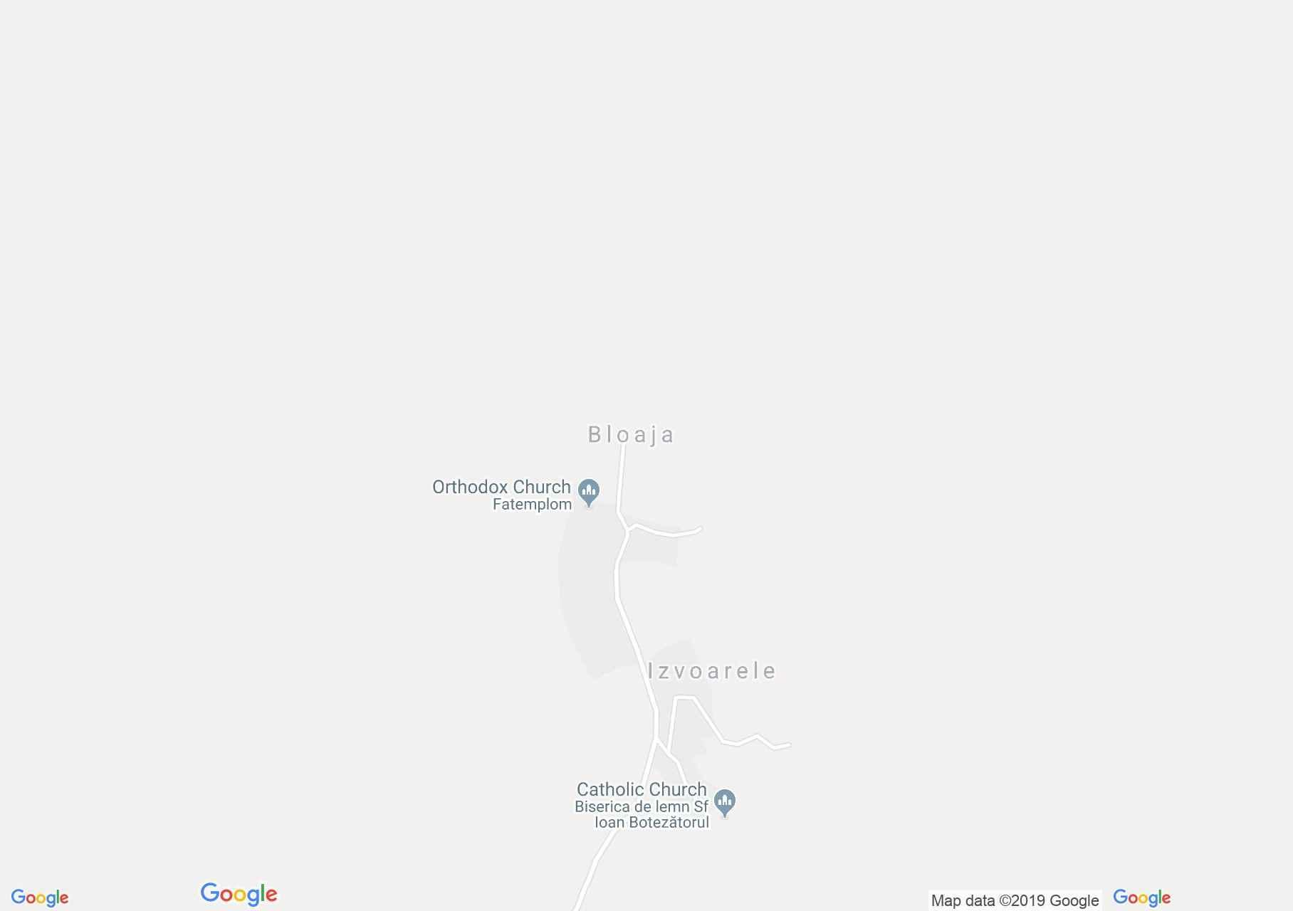 Hartă Izvoarele