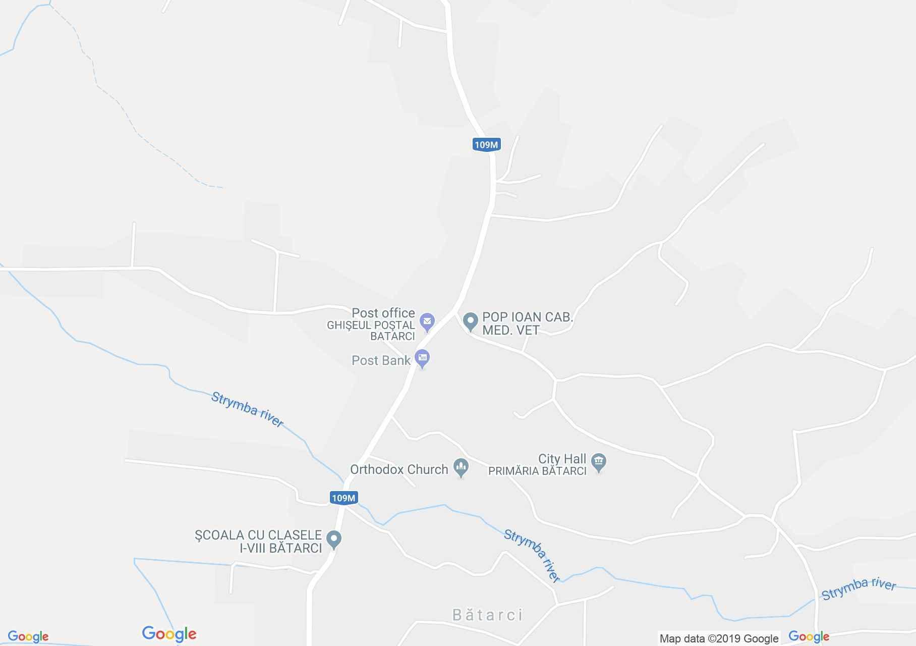 Batarcs: Ortodox templom (térkép)