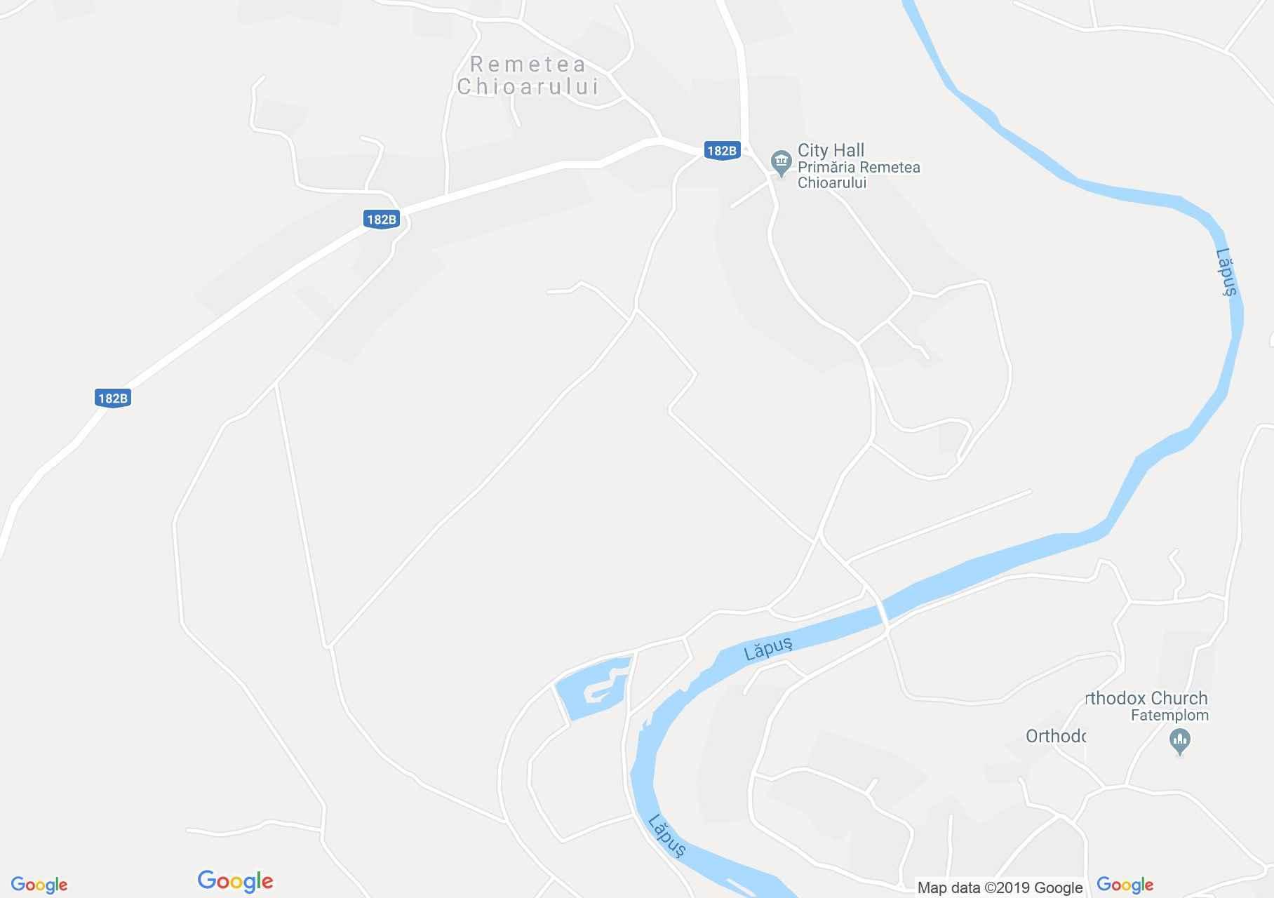 Kisremete: Mircea tava (térkép)