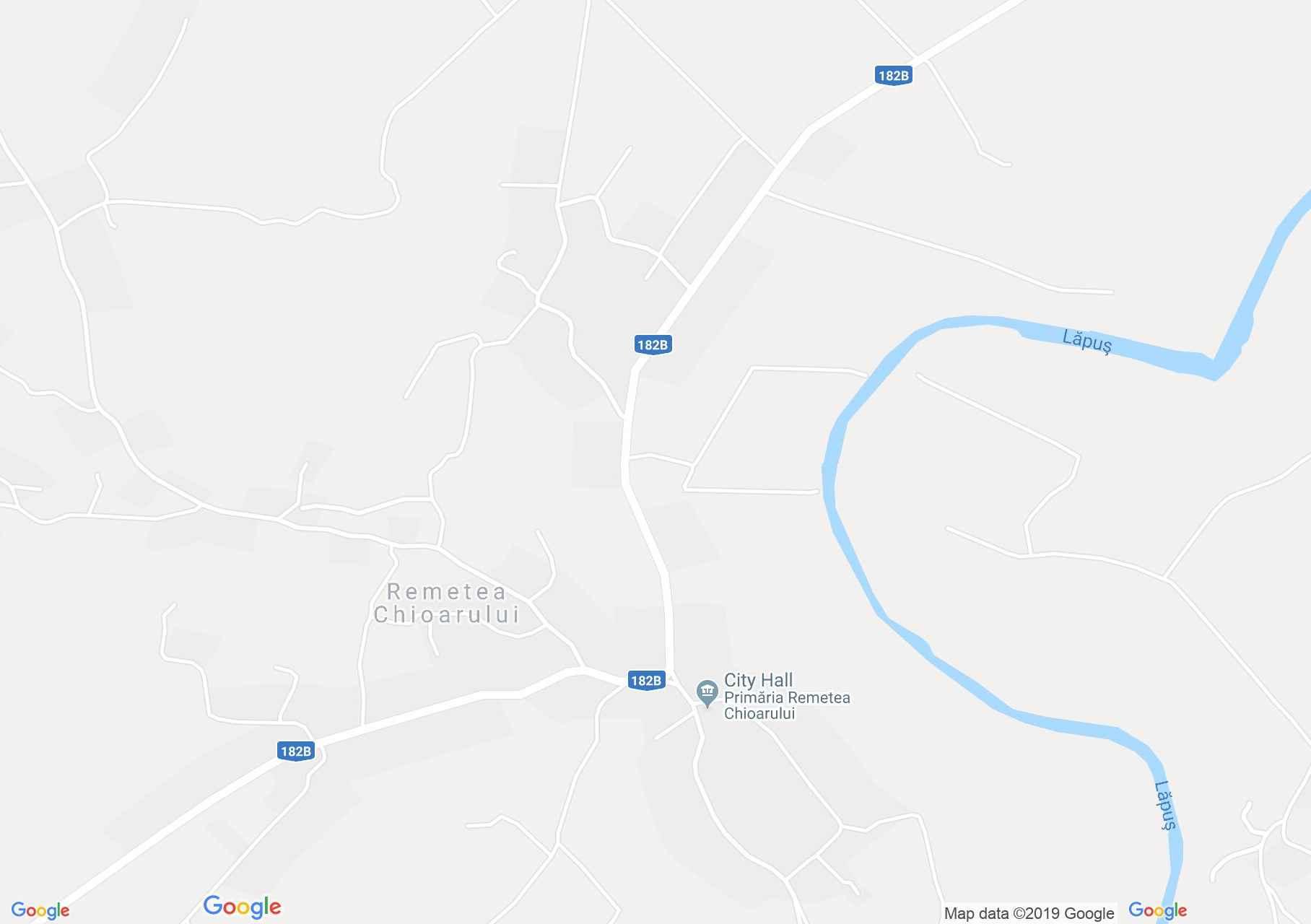 Map of Remetea Chioarului: Remetea Chioarului, Wooden church