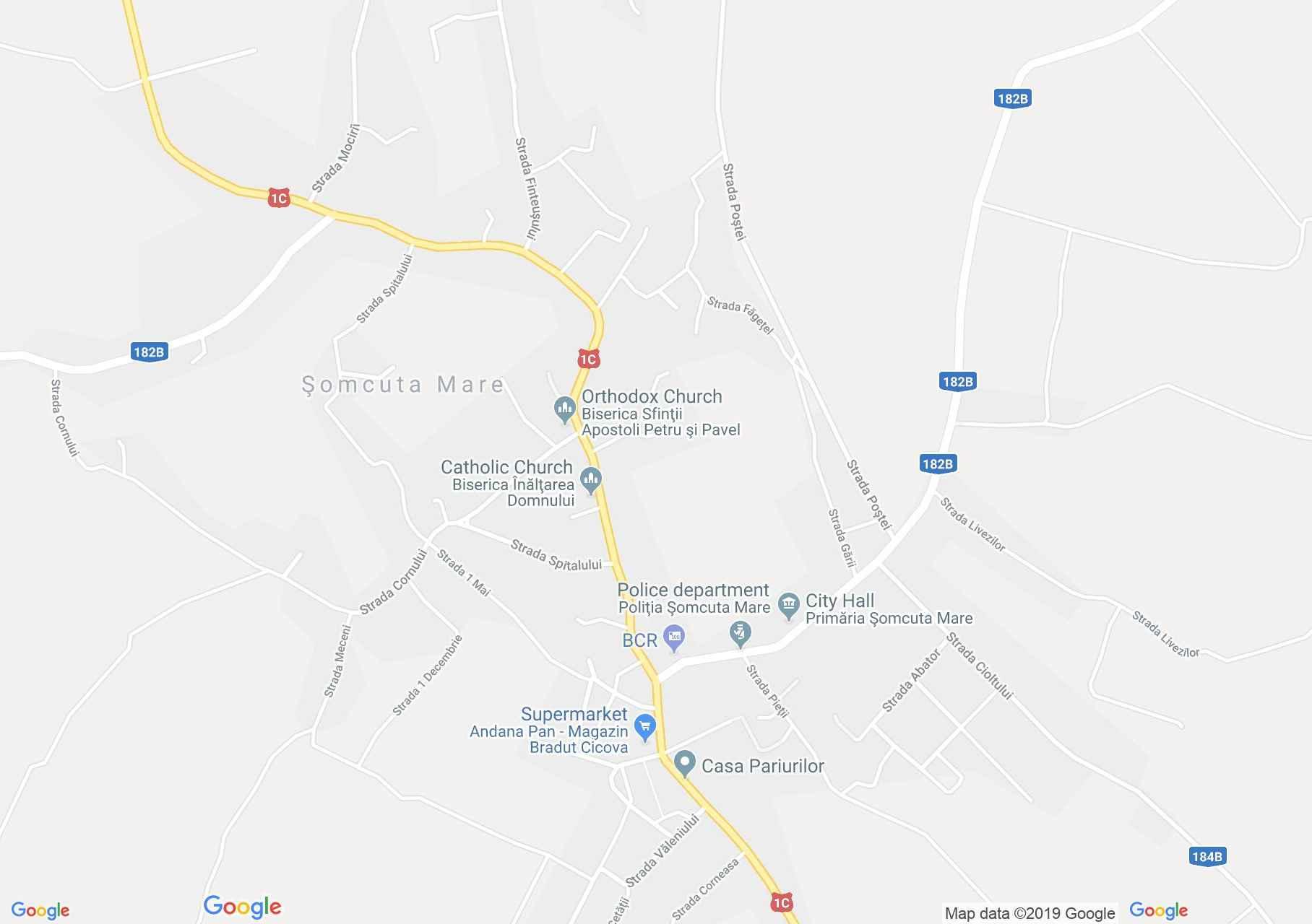 Nagysomkút: Katolikus templom (térkép)