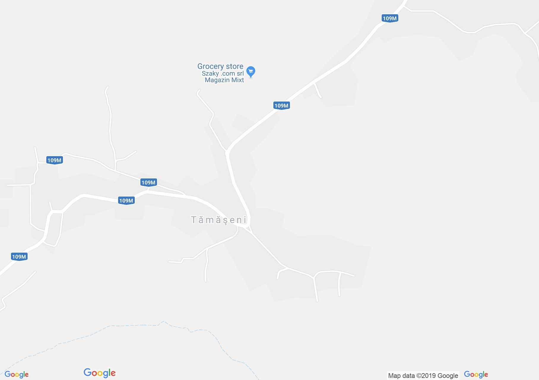 Tamásváralja: Református templom (térkép)