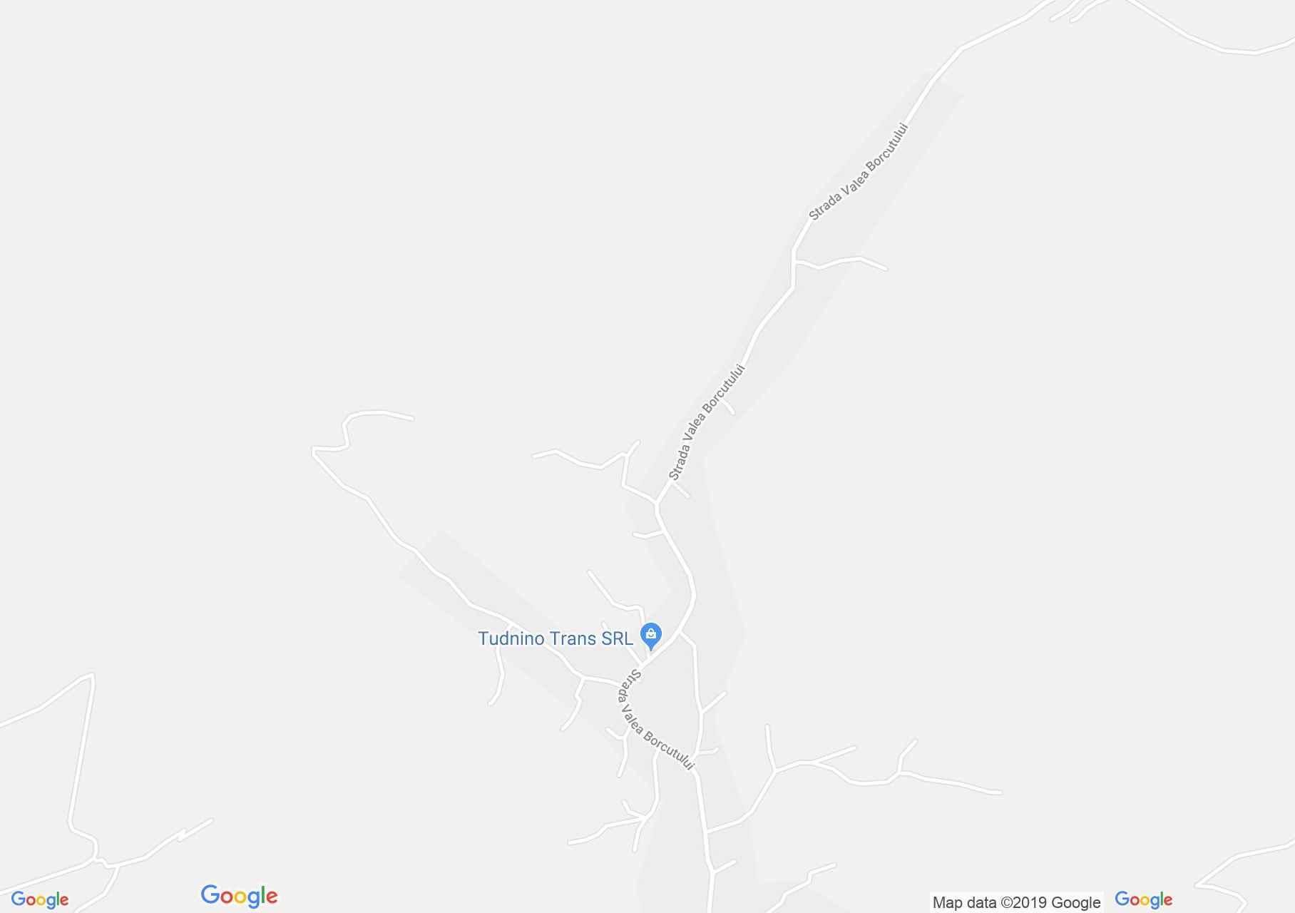 Hartă Valea Borcutului