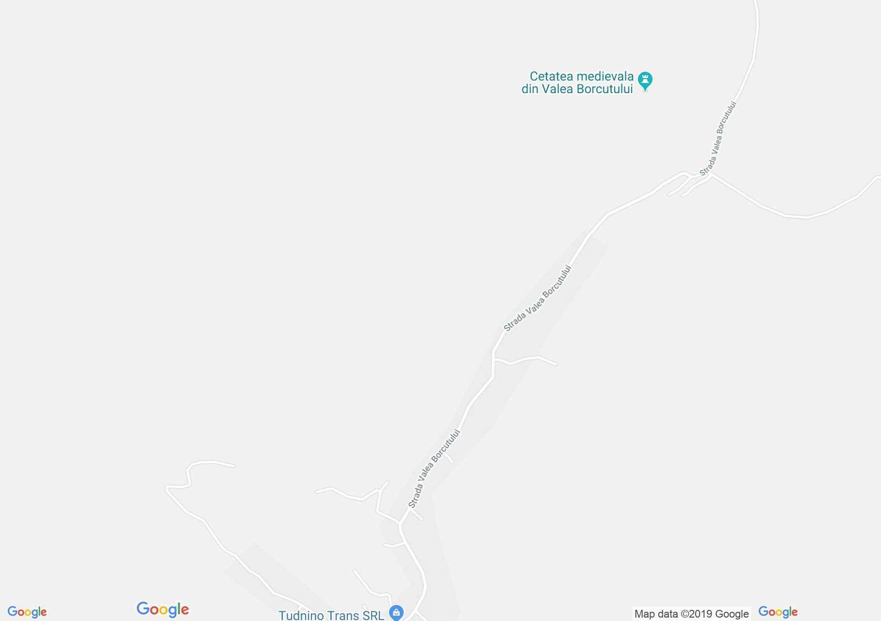 Hartă Valea Borcutului: Castelul Pokol