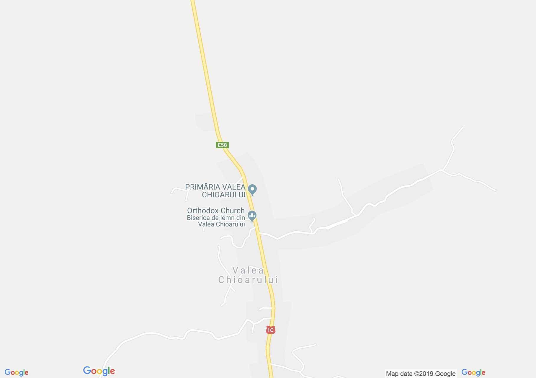 Hartă Vărai: Biserica de lemn