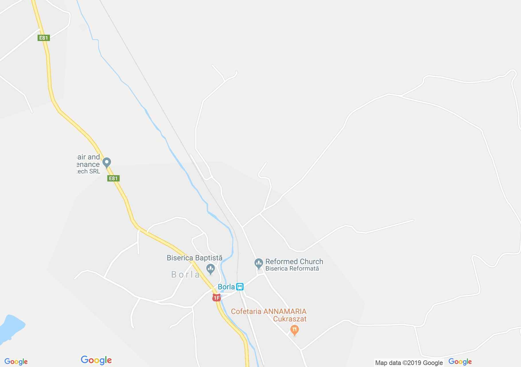 Szilágyballa: Református templom (térkép)