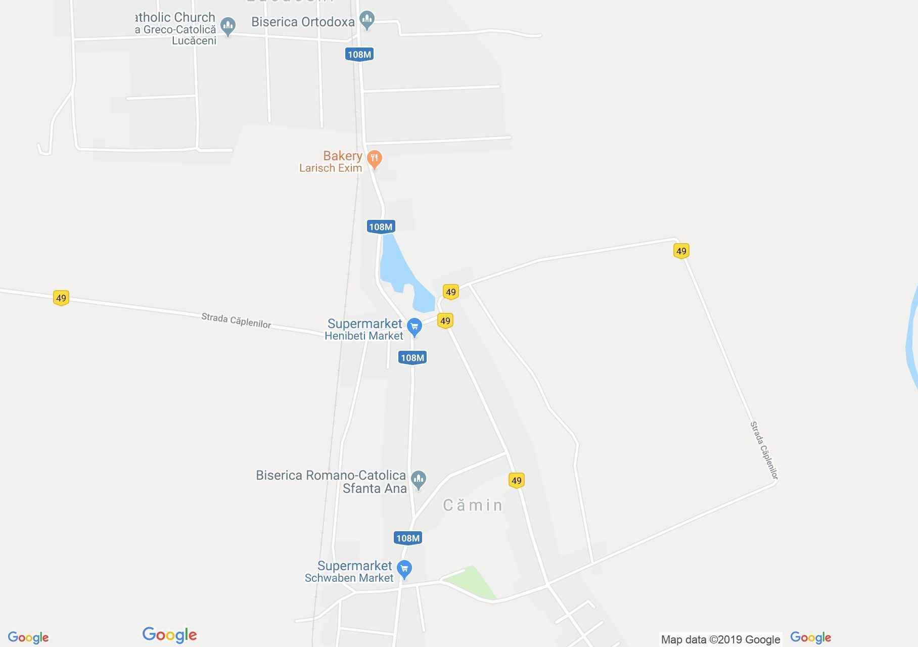 Kálmánd: Katolikus templom (térkép)