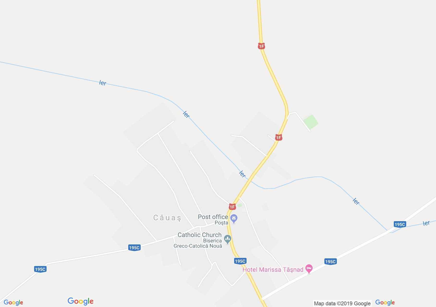 Érkávás: Református templom (térkép)