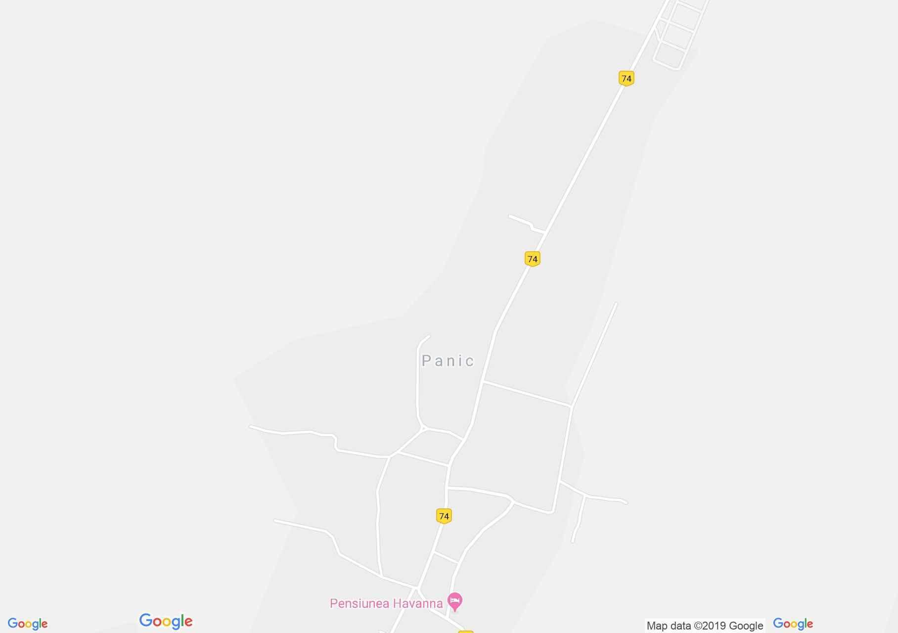 Szilágypanit (térkép)