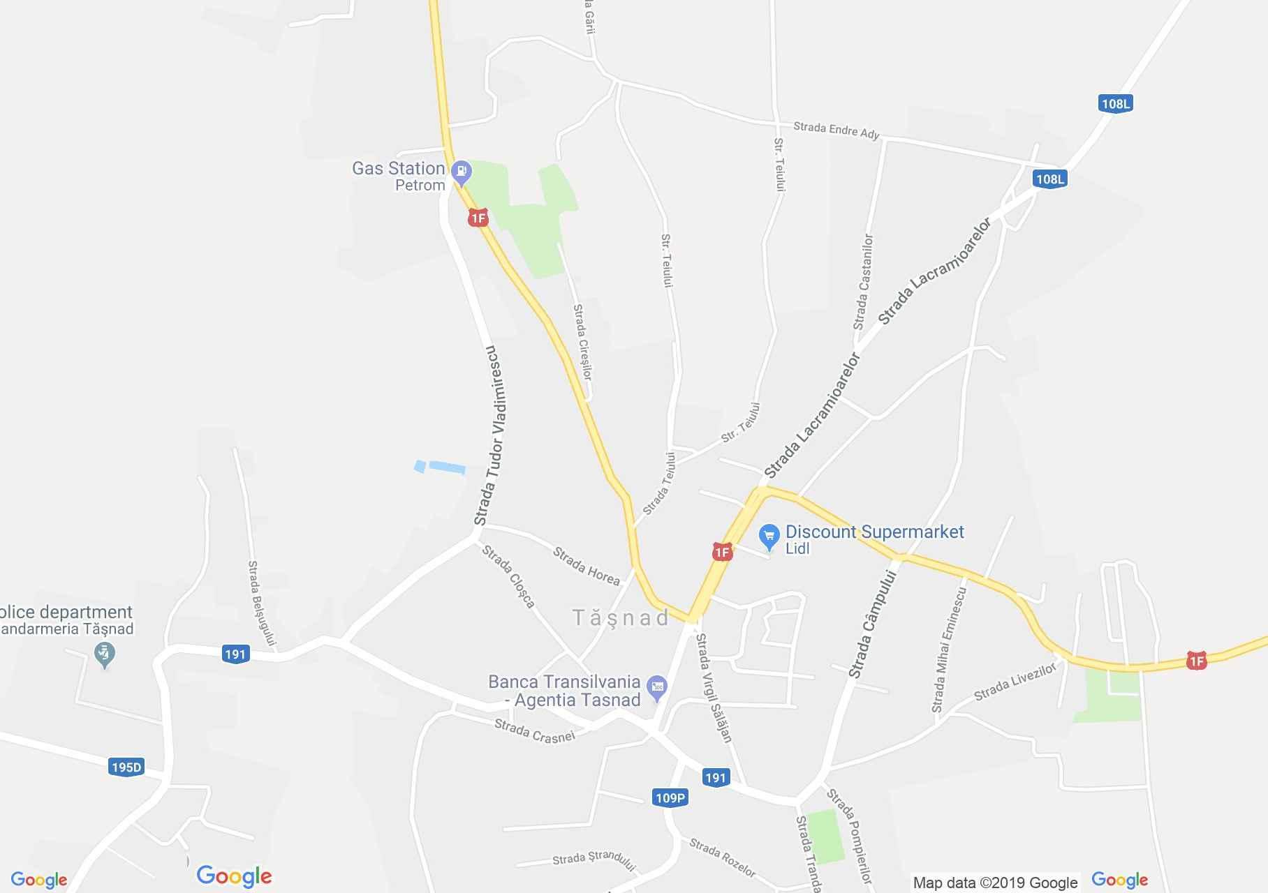Tasnád: Múzeum (térkép)