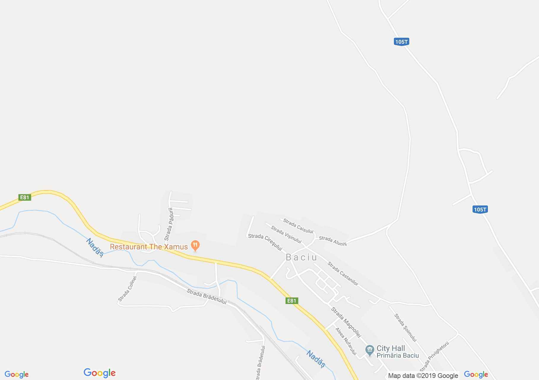 Map of Baciu