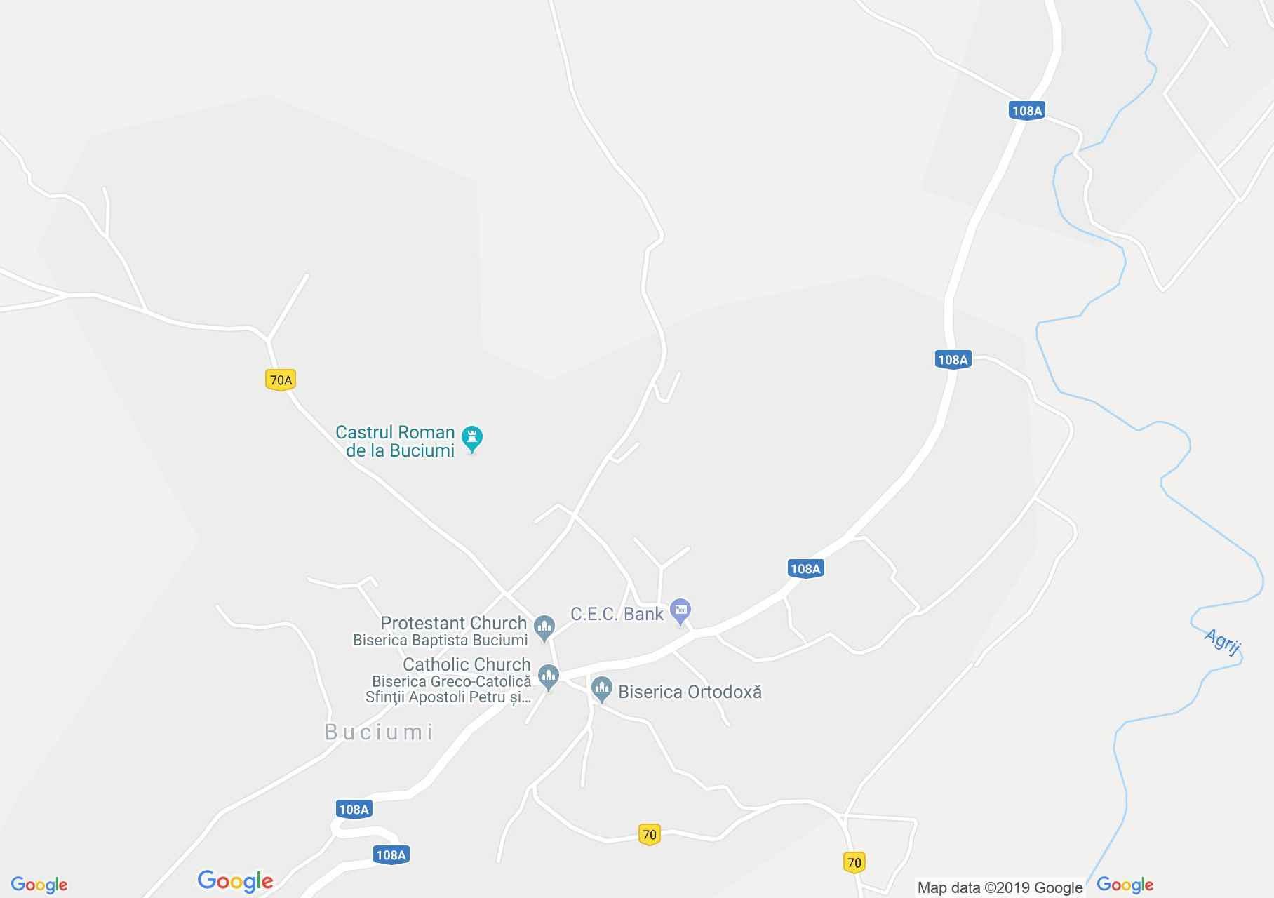 Map of Buciumi