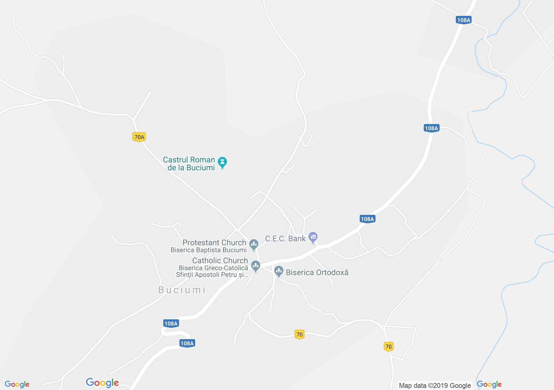 Vármező: Régi ortodox templom (térkép)