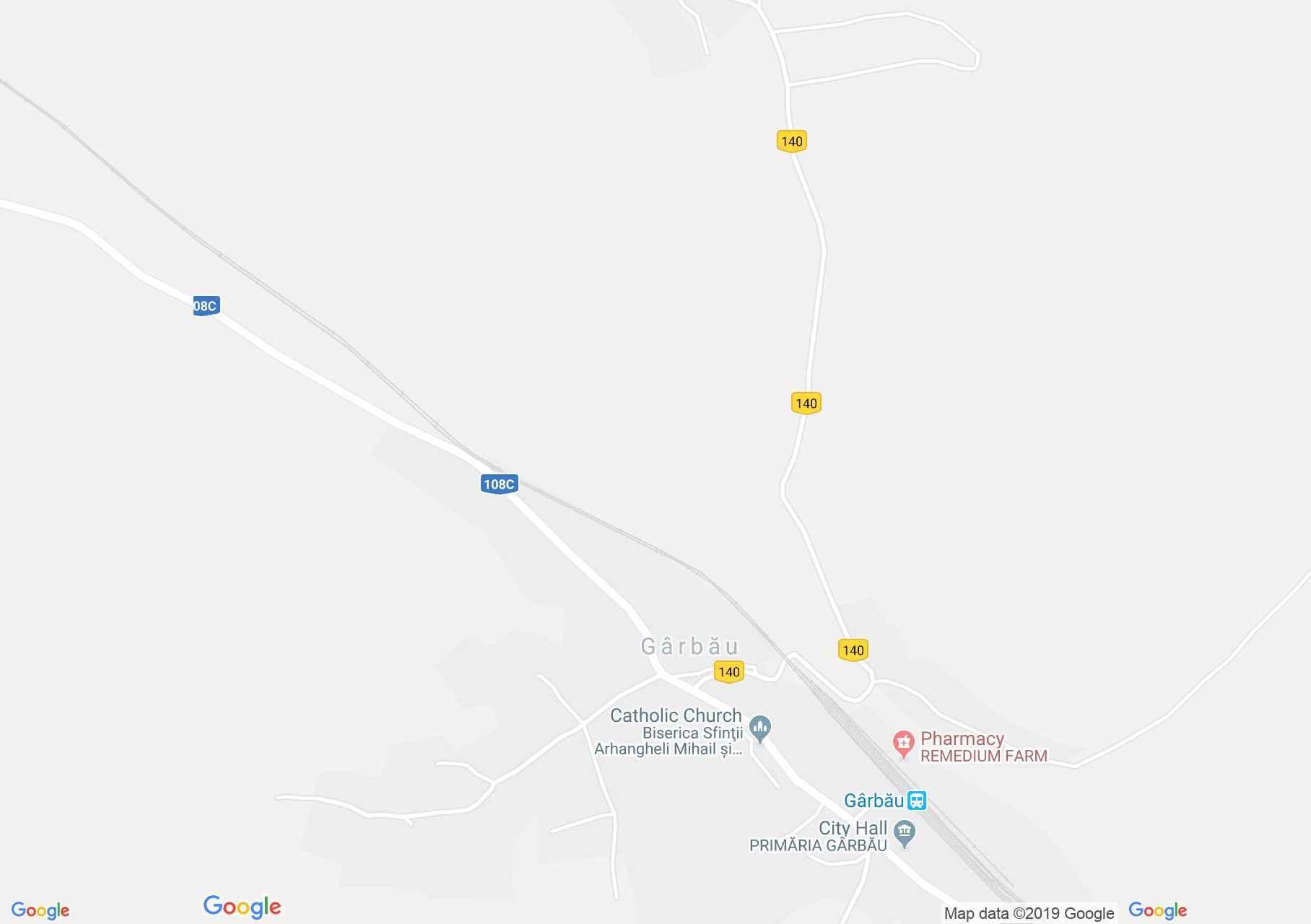 Magyargorbó (térkép)