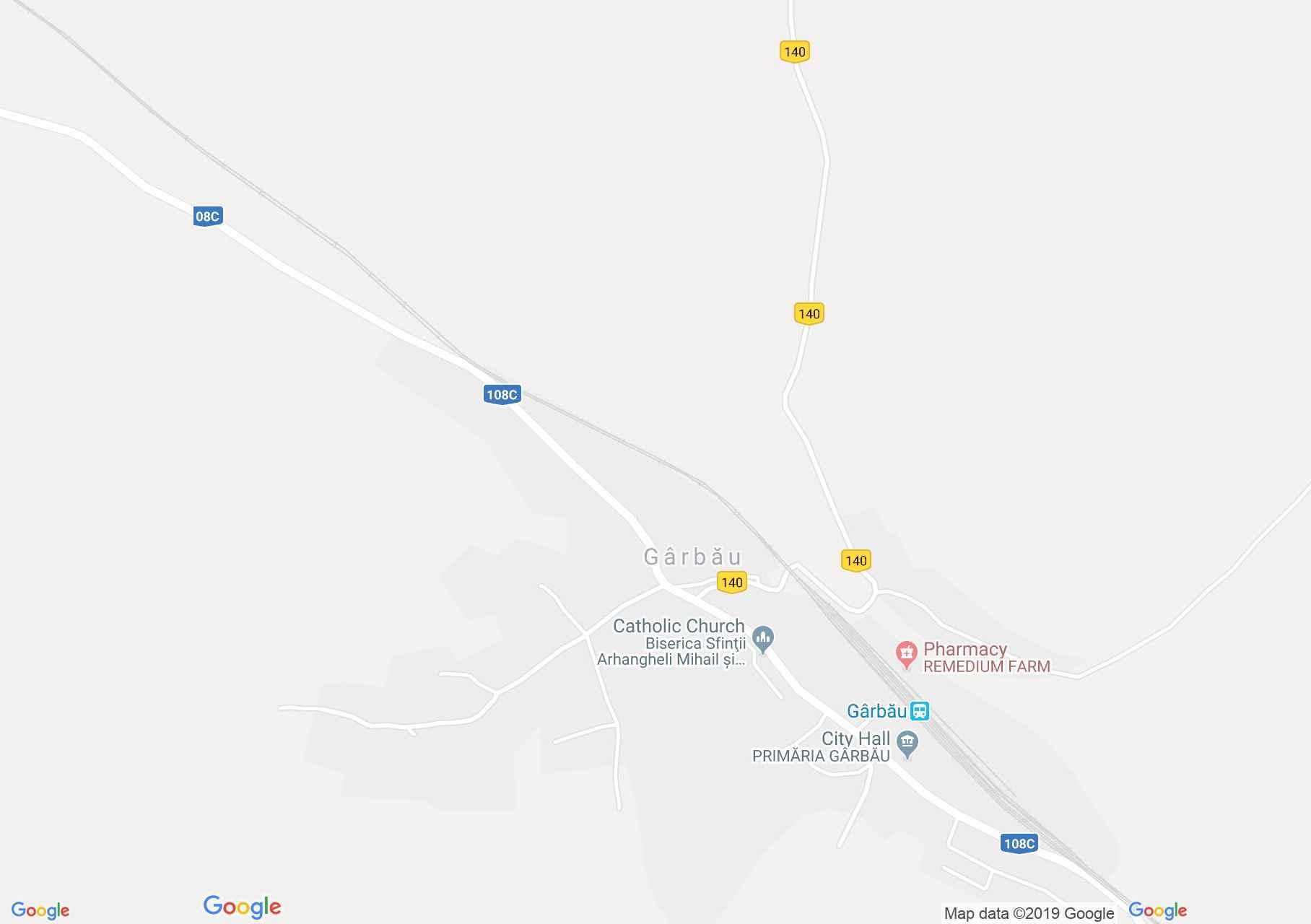 Magyargorbó: Fatemplom (térkép)