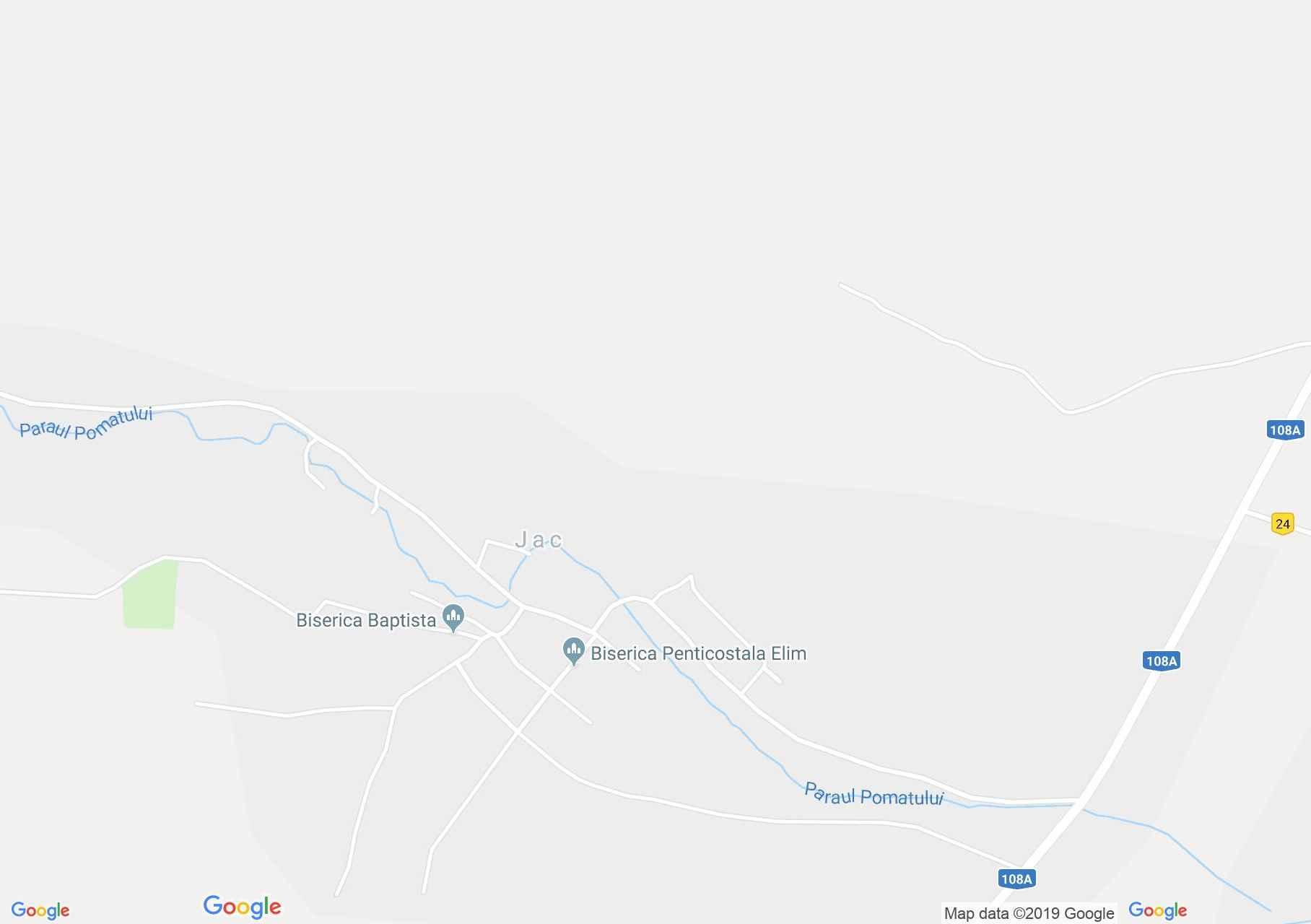 Zsákfalva: Fatemplom (térkép)